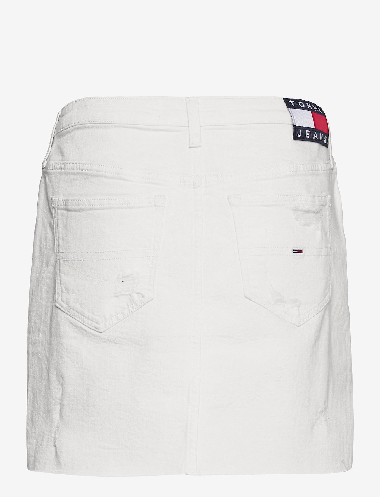 Tommy Jeans - SHORT DENIM SKIRT OWCD - jeanskjolar - optic wh com destr - 1