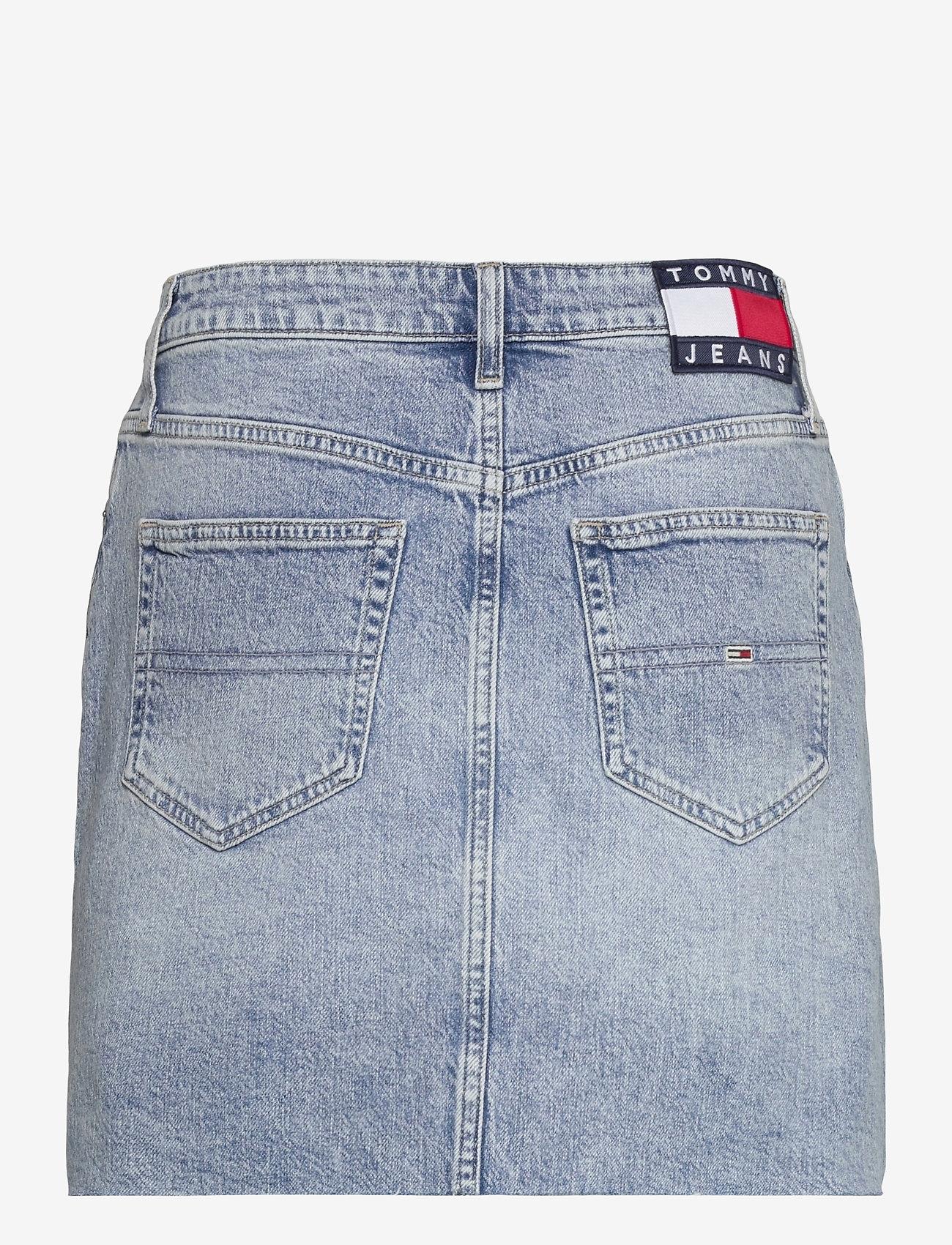 Tommy Jeans - SHORT DENIM SKIRT ALBC - jeanskjolar - ames lb com - 1