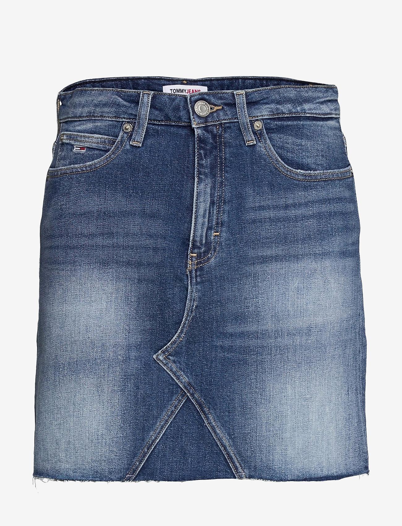 Tommy Jeans - SHORT DENIM SKIRT AMBC - jeanskjolar - ames mb com - 0