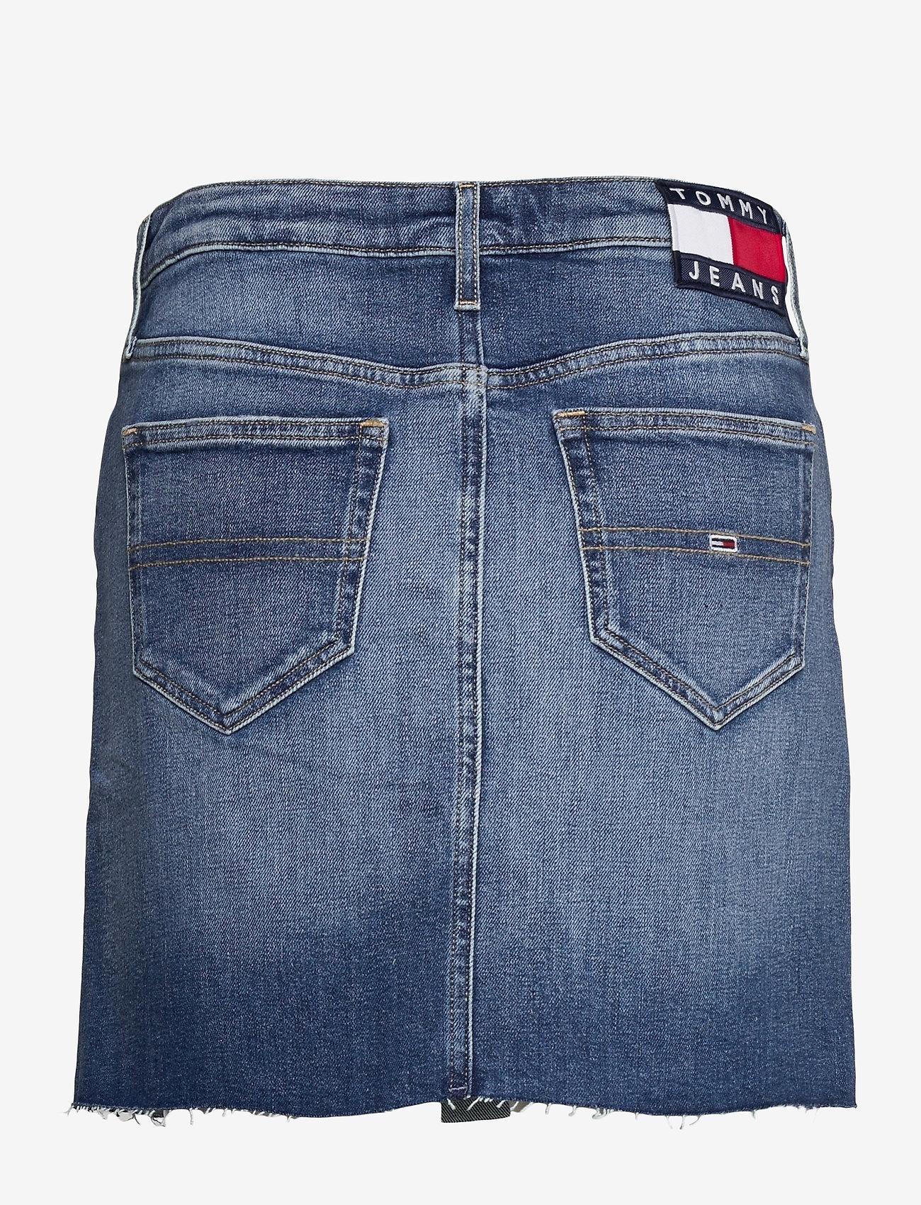 Tommy Jeans - SHORT DENIM SKIRT AMBC - jeanskjolar - ames mb com - 1