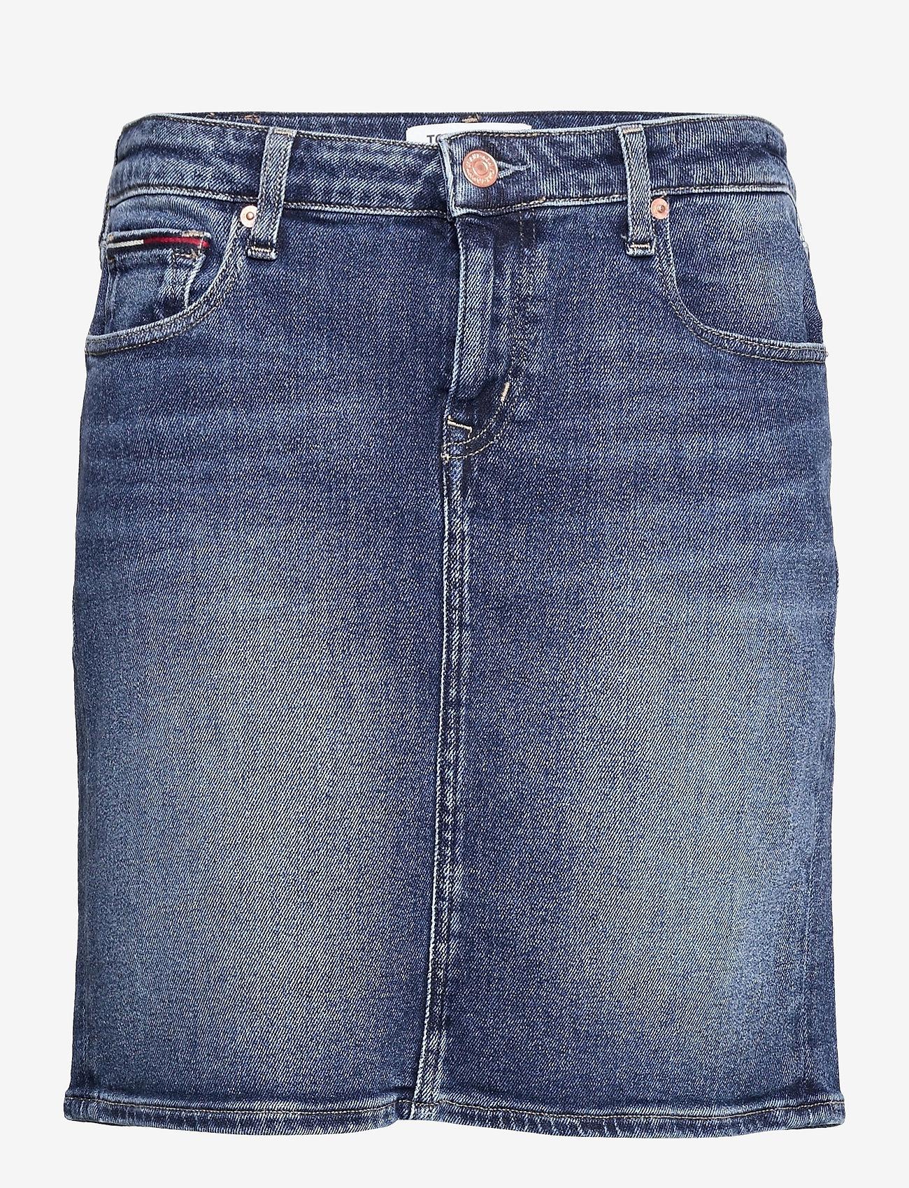 Tommy Jeans - CLASSIC DENIM SKIRT AMBS - jeanskjolar - arina mb str - 0