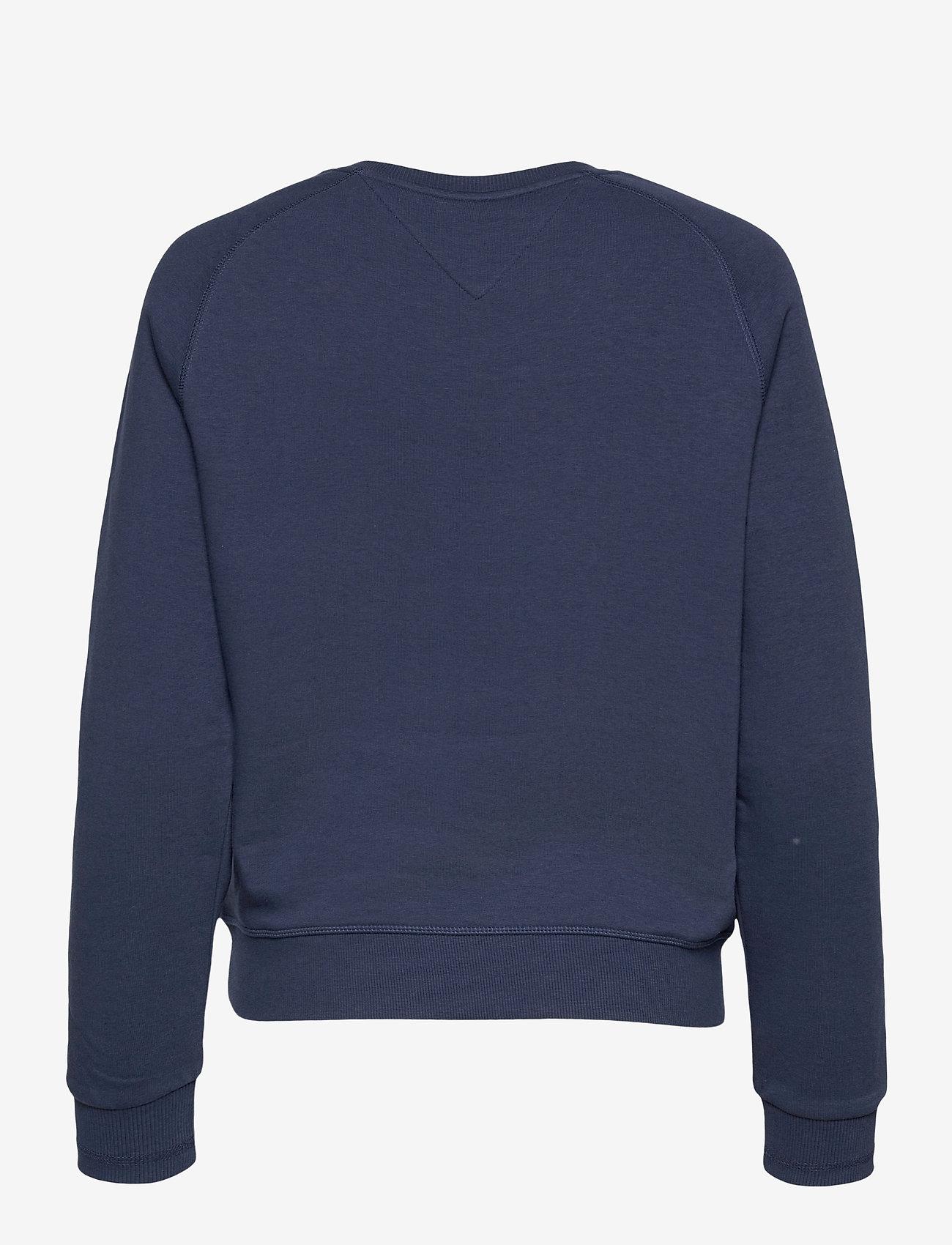 Tommy Jeans - TJW BXY TIMELESS BOX SWEATSHIRT - sweatshirts & hoodies - twilight navy - 1