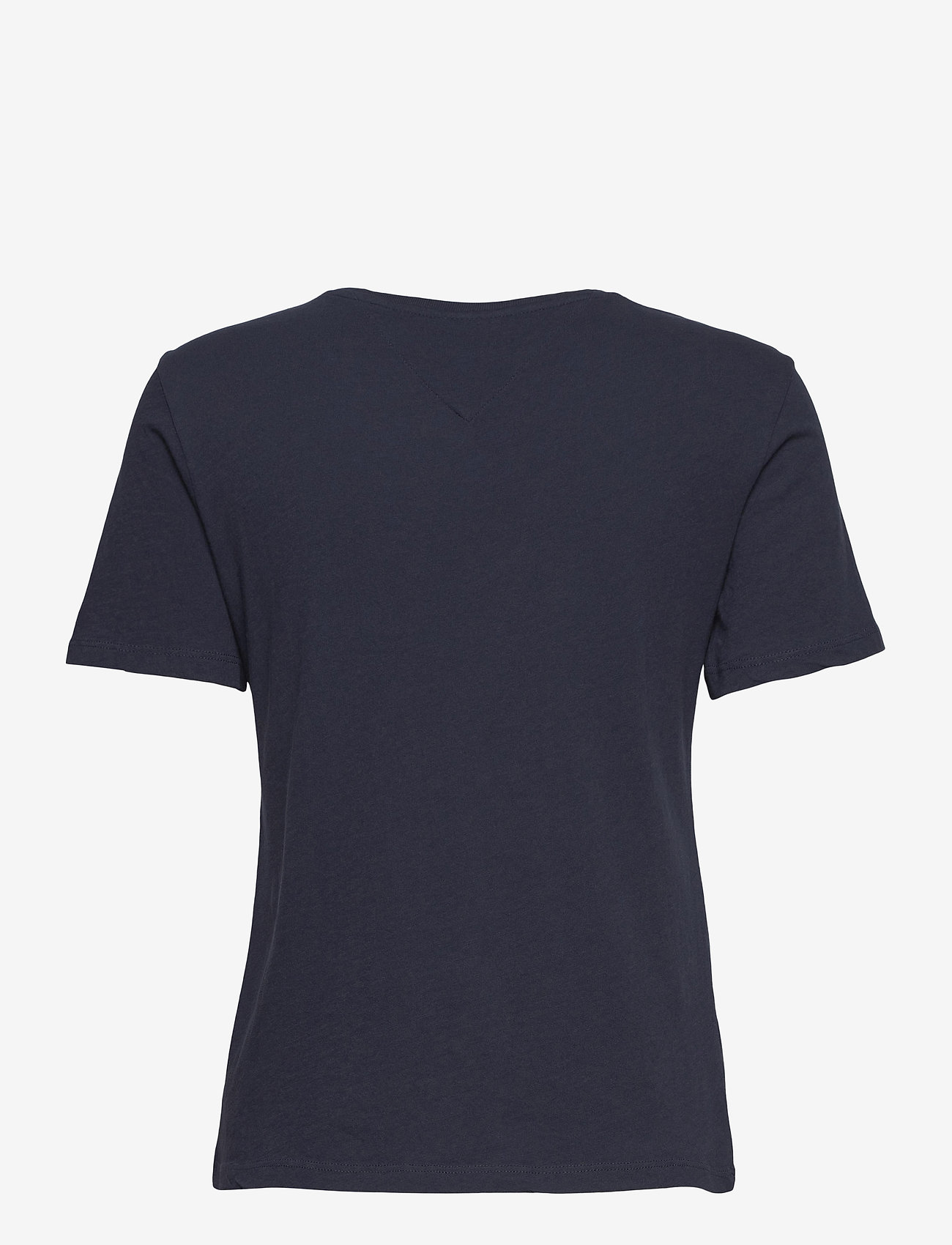 Tommy Jeans - TJW  SLIM METALLIC TOMMY TEE - t-shirts - twilight navy - 1