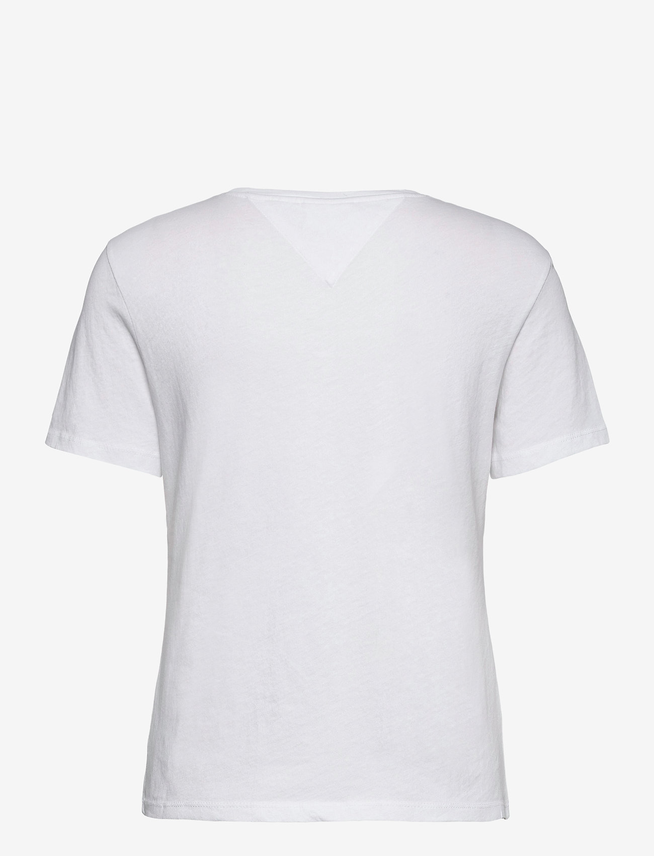 Tommy Jeans - TJW  SLIM METALLIC TOMMY TEE - t-shirts - white - 1