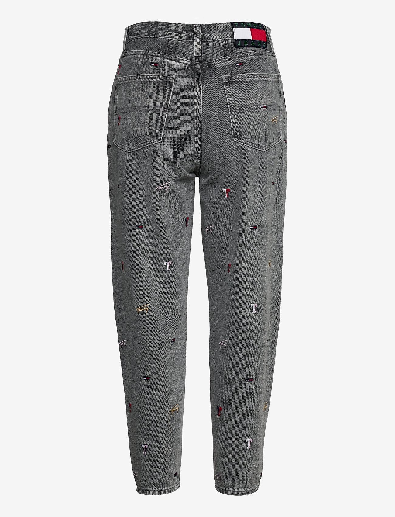 Tommy Jeans - MOM JEAN HR TPRD SSPGR - mom jeans - save sp critter grey rig - 1