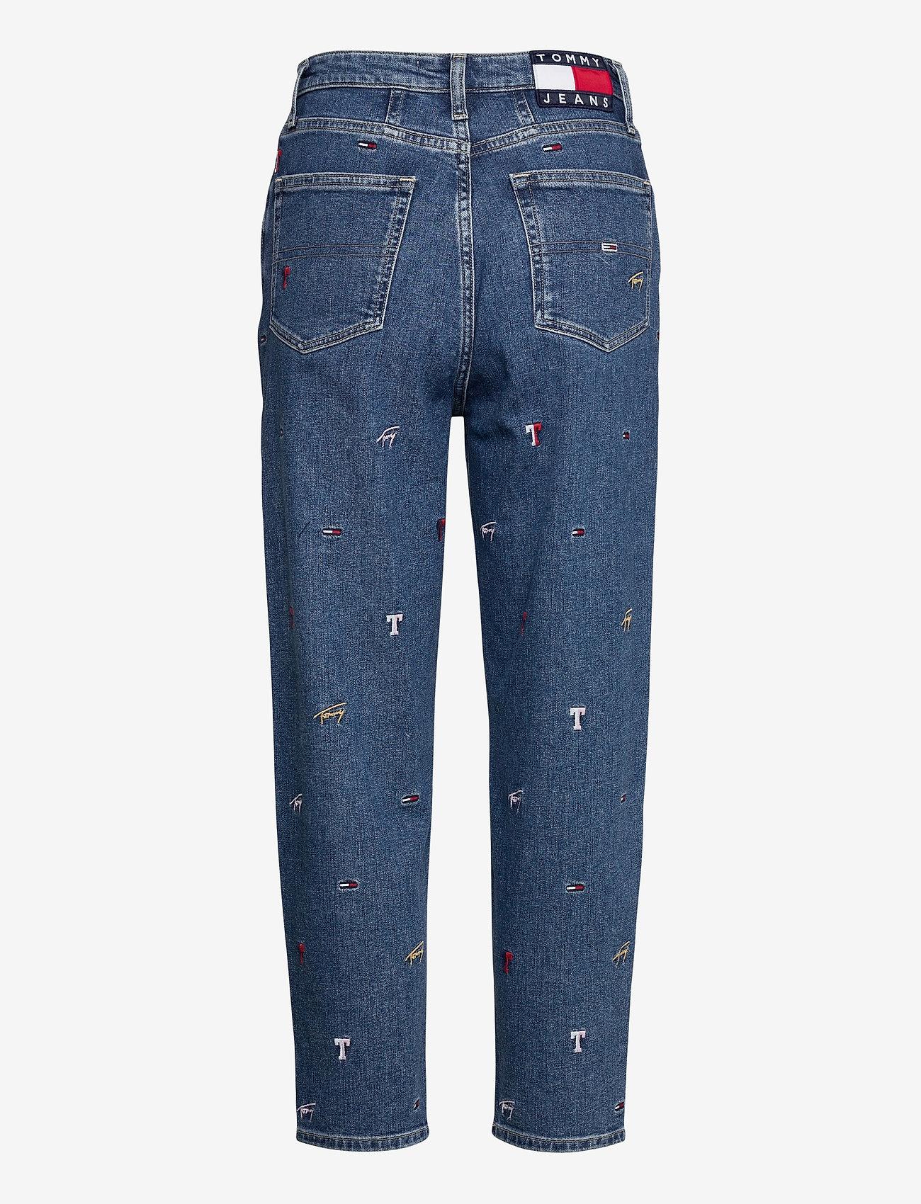 Tommy Jeans - MOM JEAN HR TPRD CRLBC - mom-jeans - critter lb com - 1