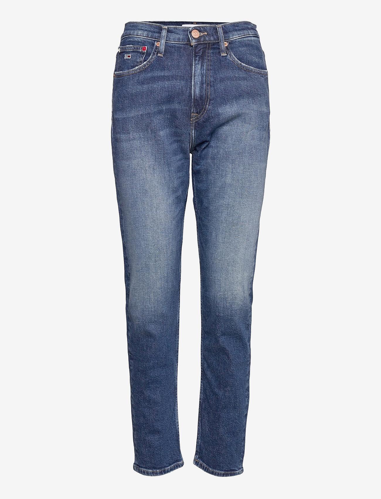 Tommy Jeans - IZZIE HR SLIM ANKLE AE632 MBC - slim jeans - denim medium - 0