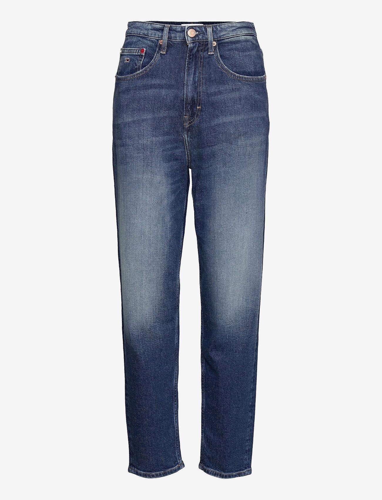 Tommy Jeans - MOM JEAN UHR TPRD AE632 MBC - tapered jeans - denim medium - 0