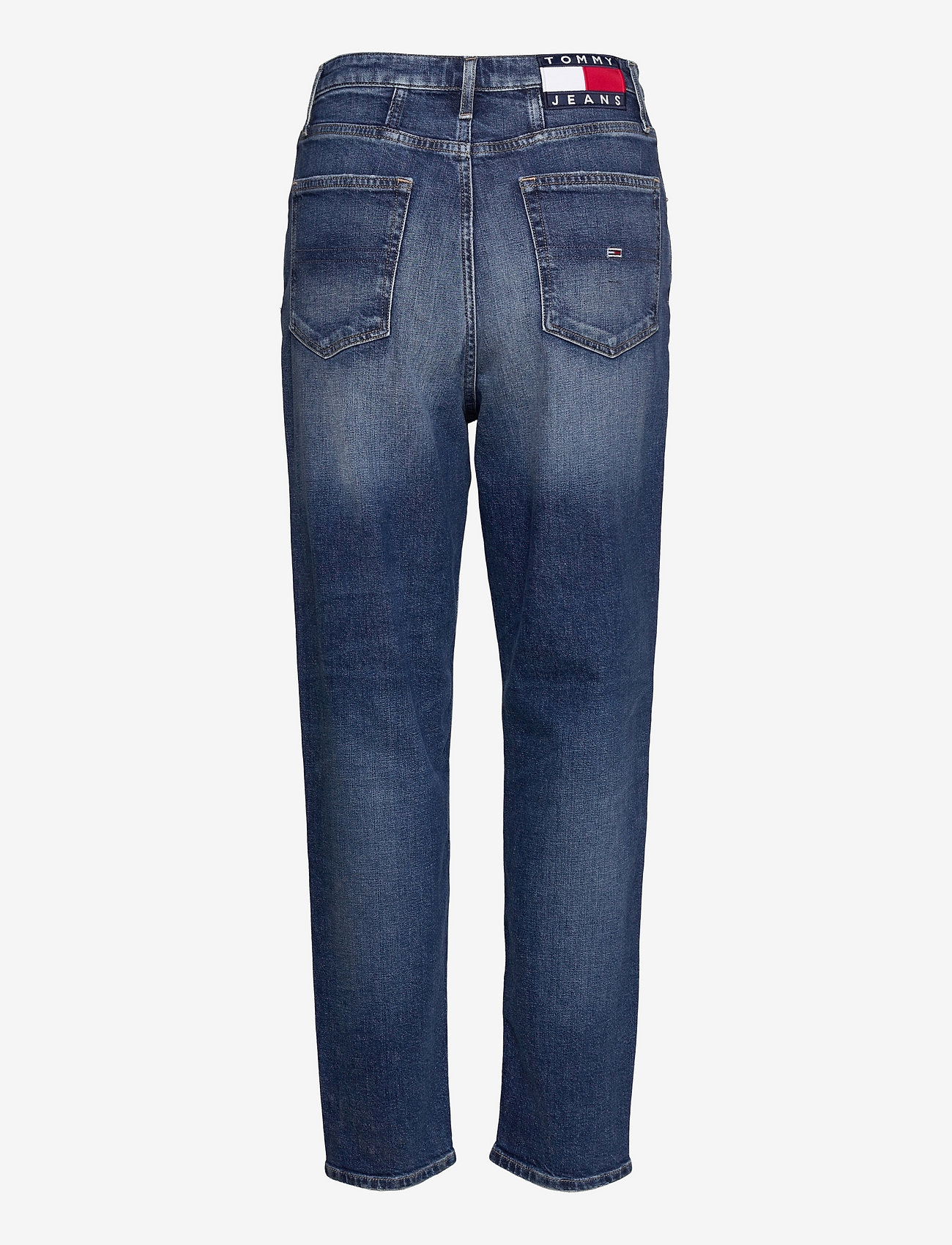 Tommy Jeans - MOM JEAN UHR TPRD AE632 MBC - tapered jeans - denim medium - 1