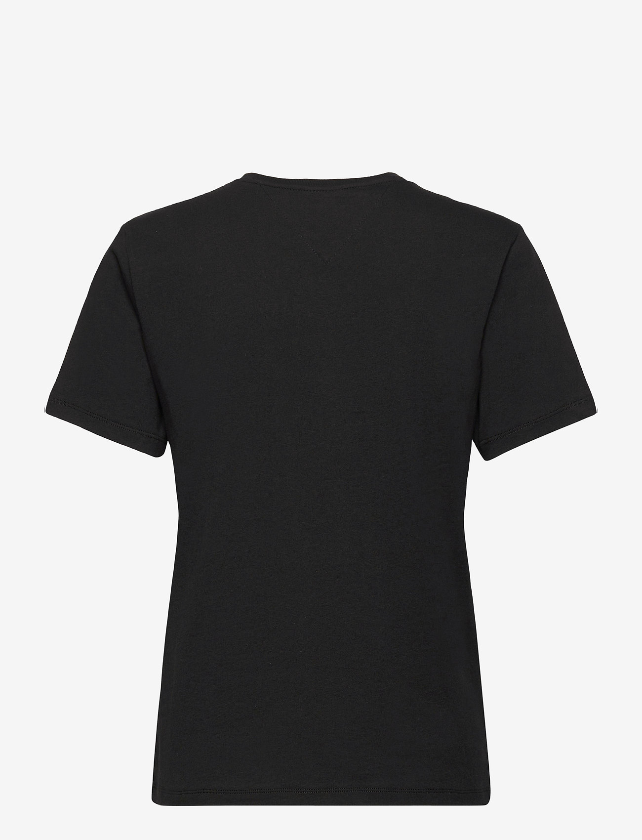 Tommy Jeans - TJW RELAXED AMERICANA TEE - t-shirts - black - 1