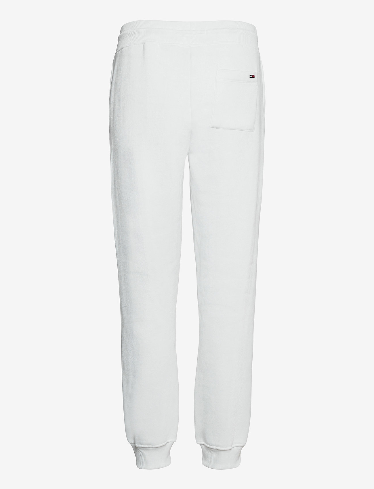 Tommy Jeans - TJW SLIM BOX FLAG SWEAT PANT - sweatpants - white - 1