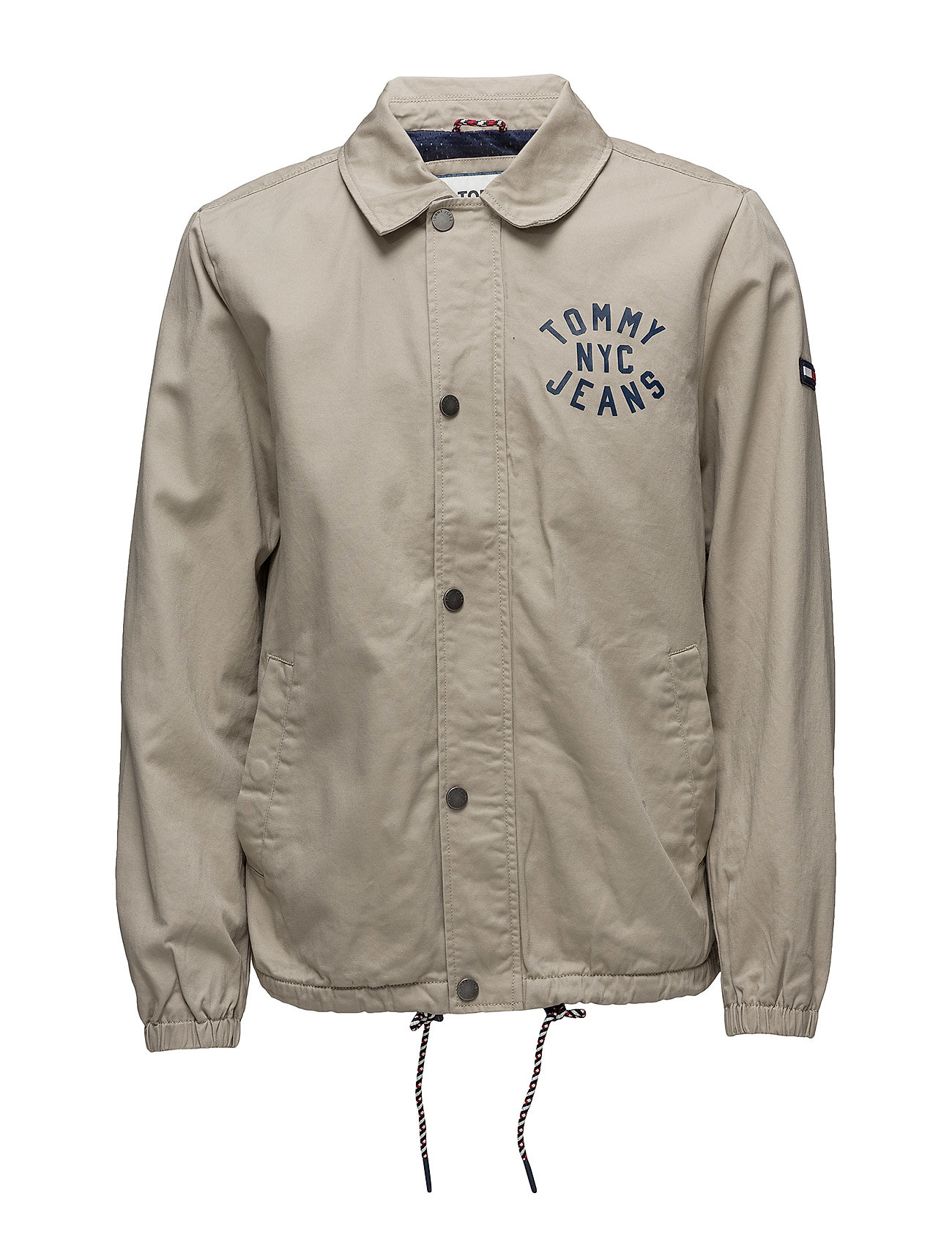 Tommy Jeans TJM COACH JACKET, 00 - PLAZA TAUPE