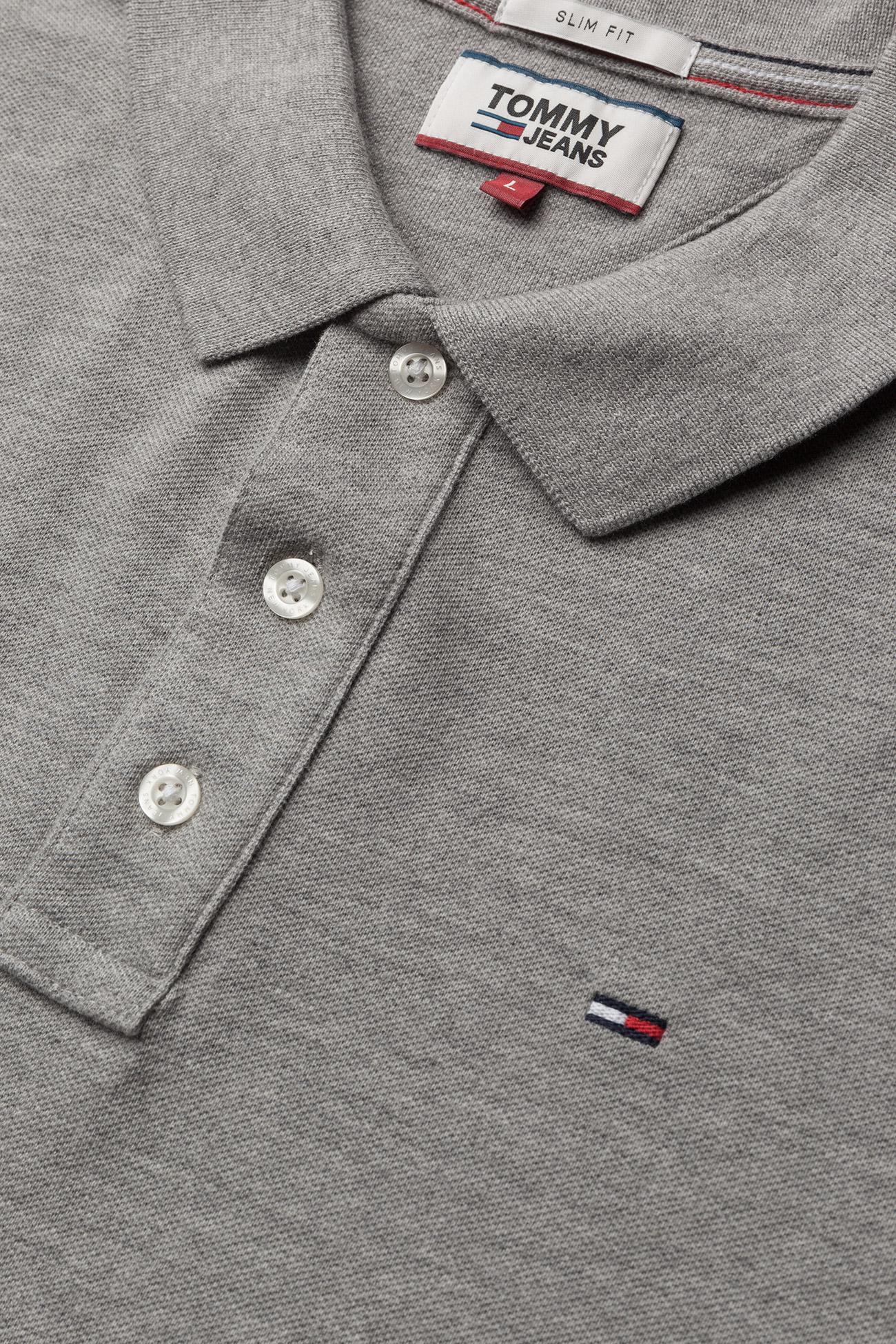 Tommy Jeans - TJM ORIGINAL FINE PIQUE POLO S/S - poloshirts - lt grey htr - 2