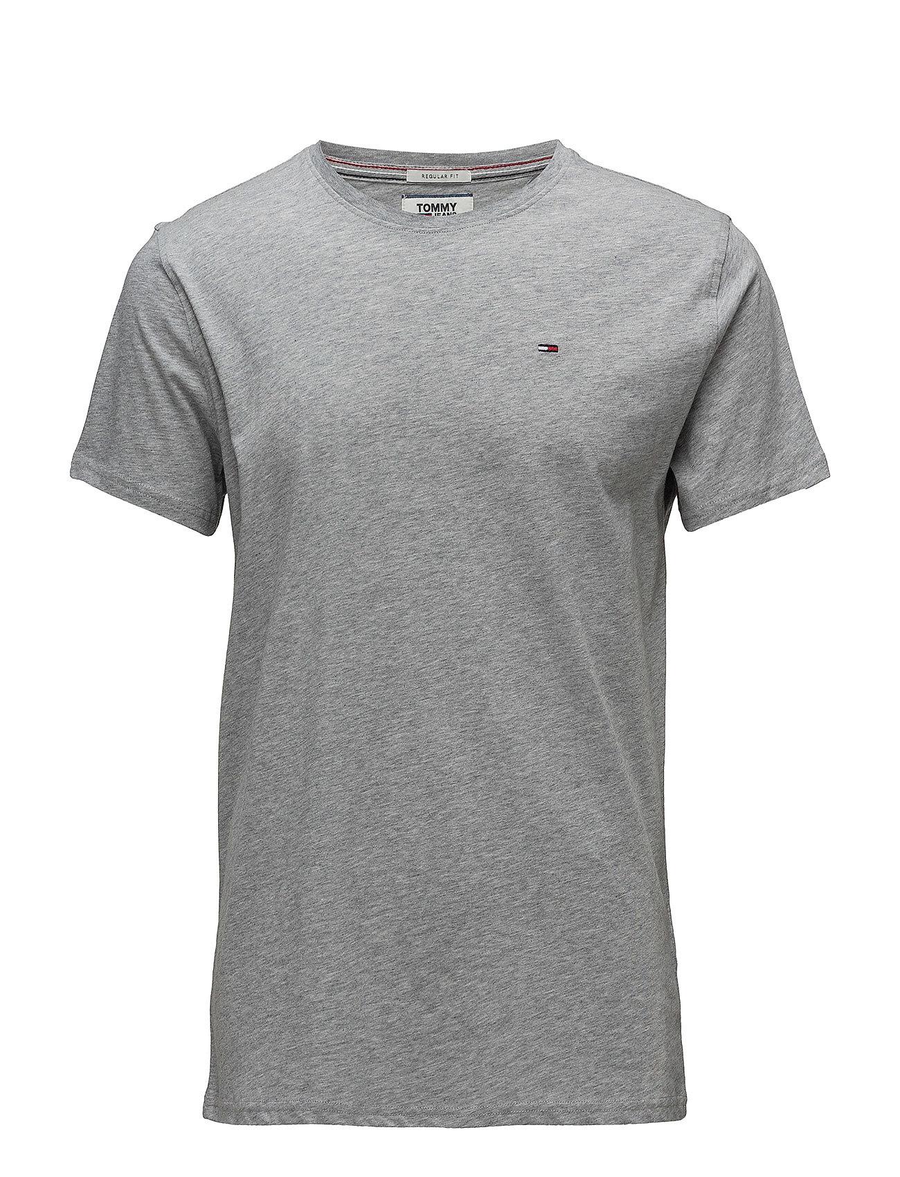 Tommy Jeans - TJM ORIGINAL JERSEY TEE - basic t-shirts - lt grey htr - 0