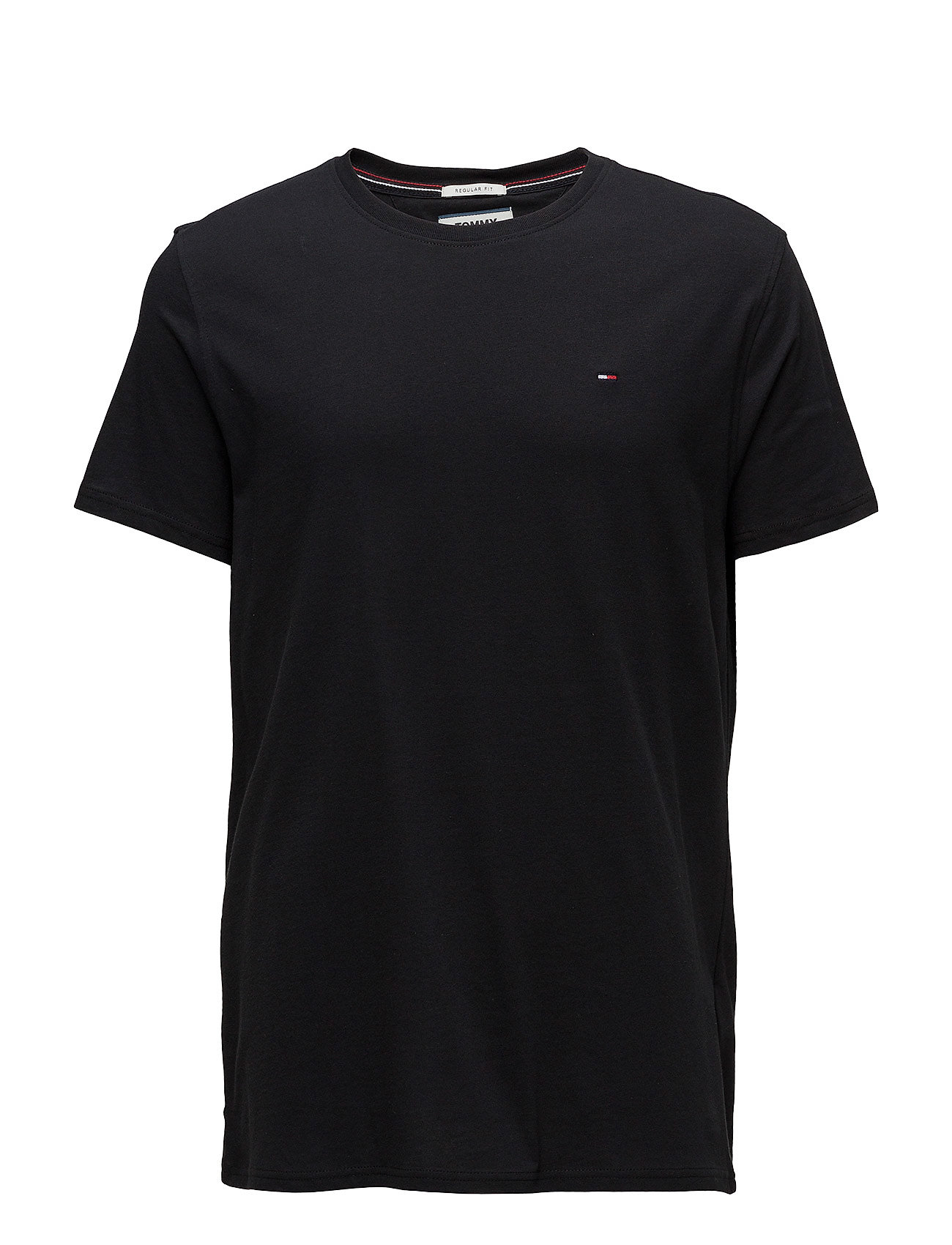 Tommy Jeans - TJM ORIGINAL JERSEY TEE - basic t-shirts - tommy black - 0