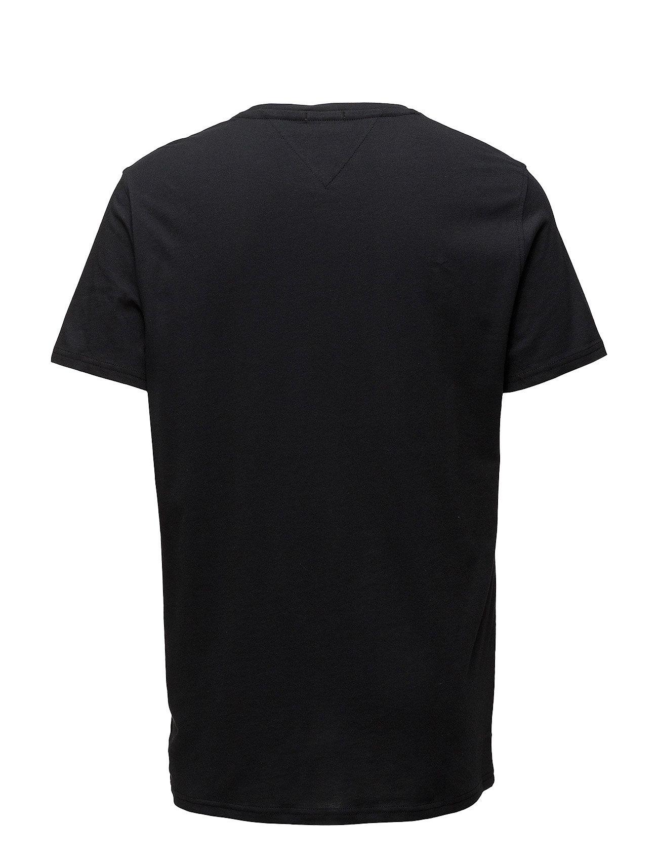 Tommy Jeans - TJM ORIGINAL JERSEY TEE - basic t-shirts - tommy black - 1