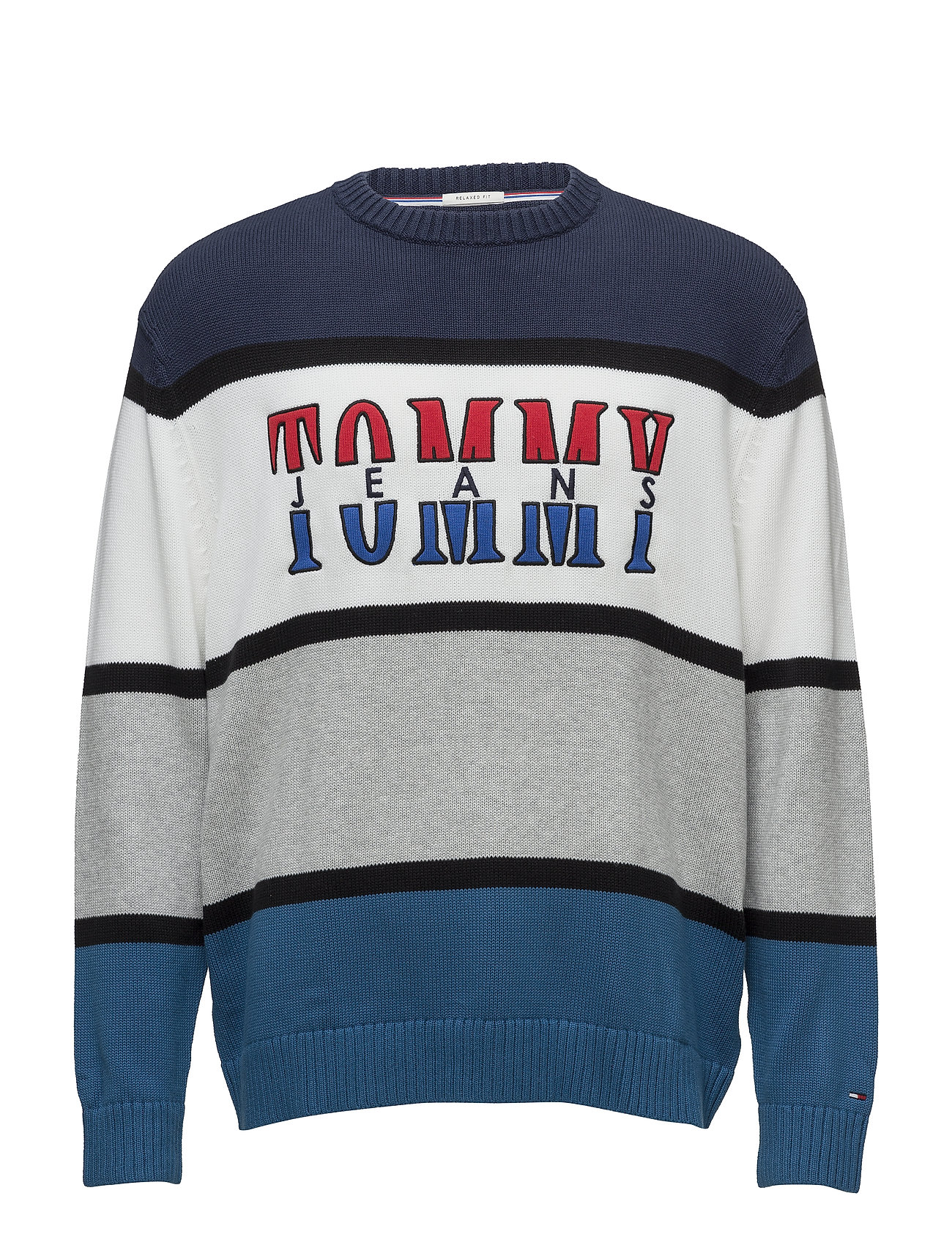 Tommy Jeans TJM RETRO COLORBLOCK SWEATER