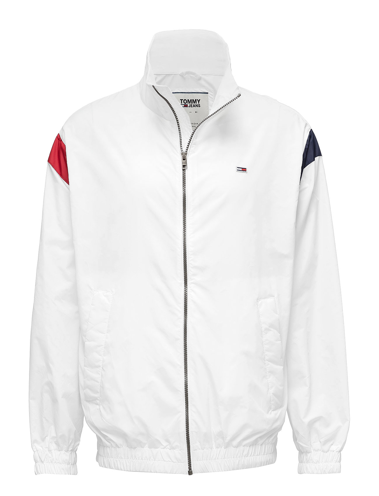 Tommy Jeans TJM TOMMY CLASSICS JACKET - CLASSIC WHITE