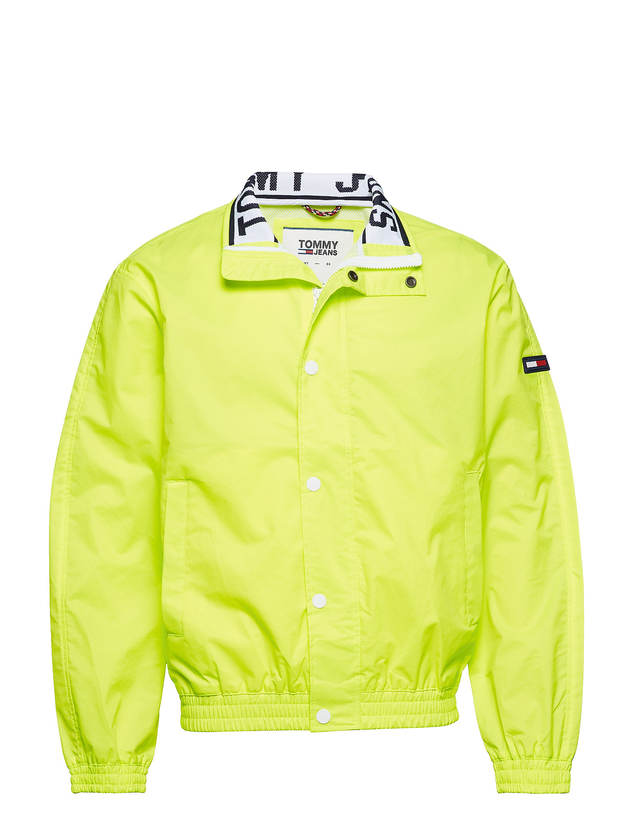 Tommy Jeans TJM MESH TRAINER JAC - SAFETY YELLOW