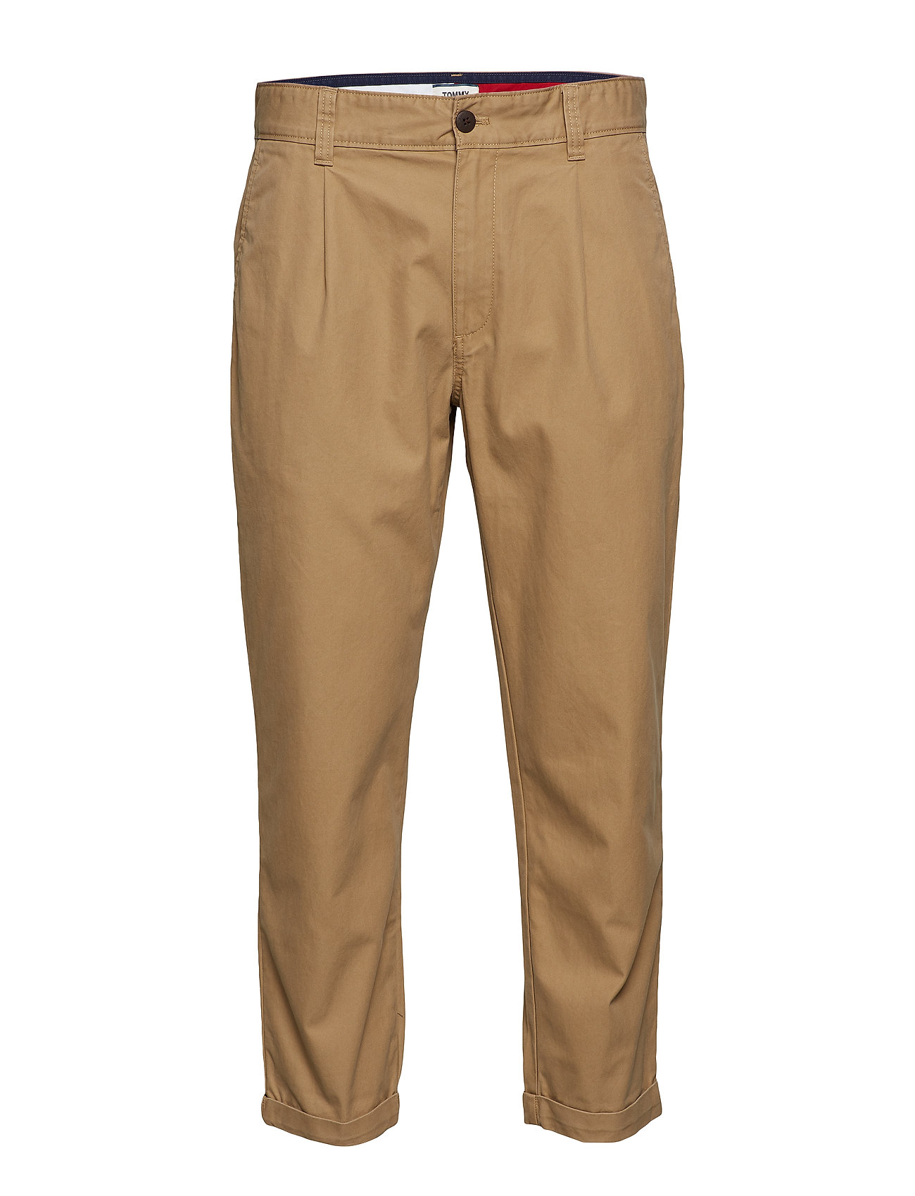 Tommy Jeans TJM TURN UP CHINO, 2 - TIGER'S EYE