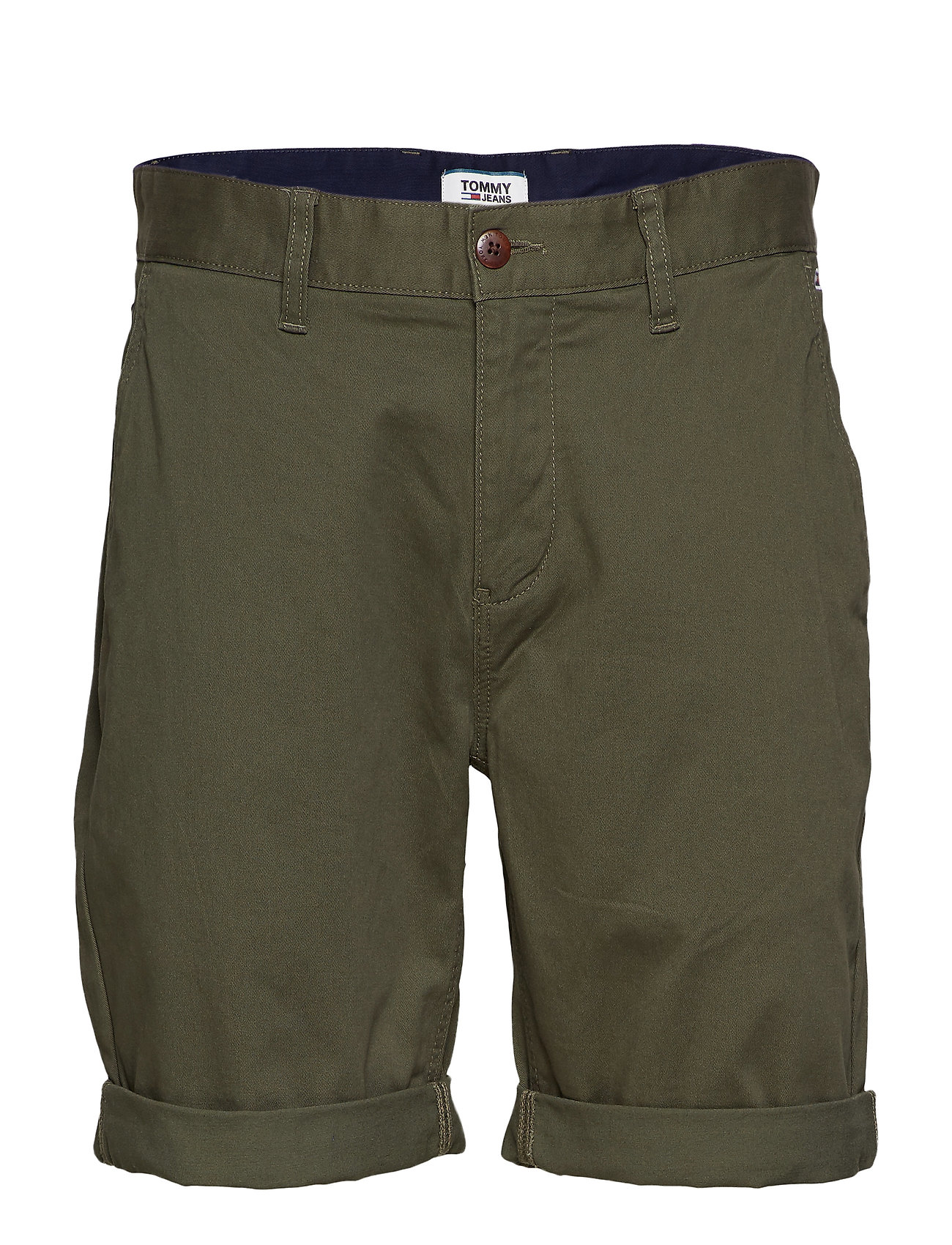 Tommy Jeans TJM ESSENTIAL CHINO SHORT - FOREST NIGHT