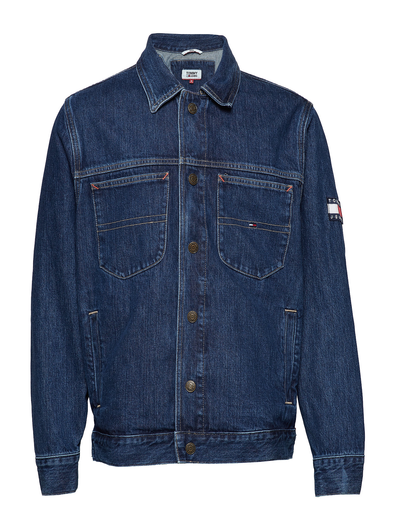 Tommy Jeans OVERSIZED TRUCKER SL - SOLE MID RIGID