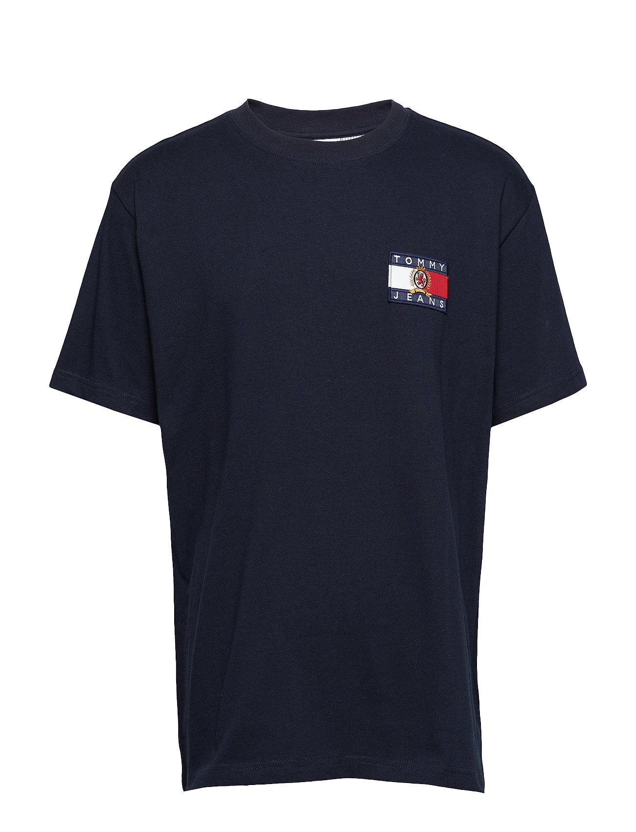 Tee Tjm Jeans SapphireTommy Crest Flag Mdark qSVzMUpG
