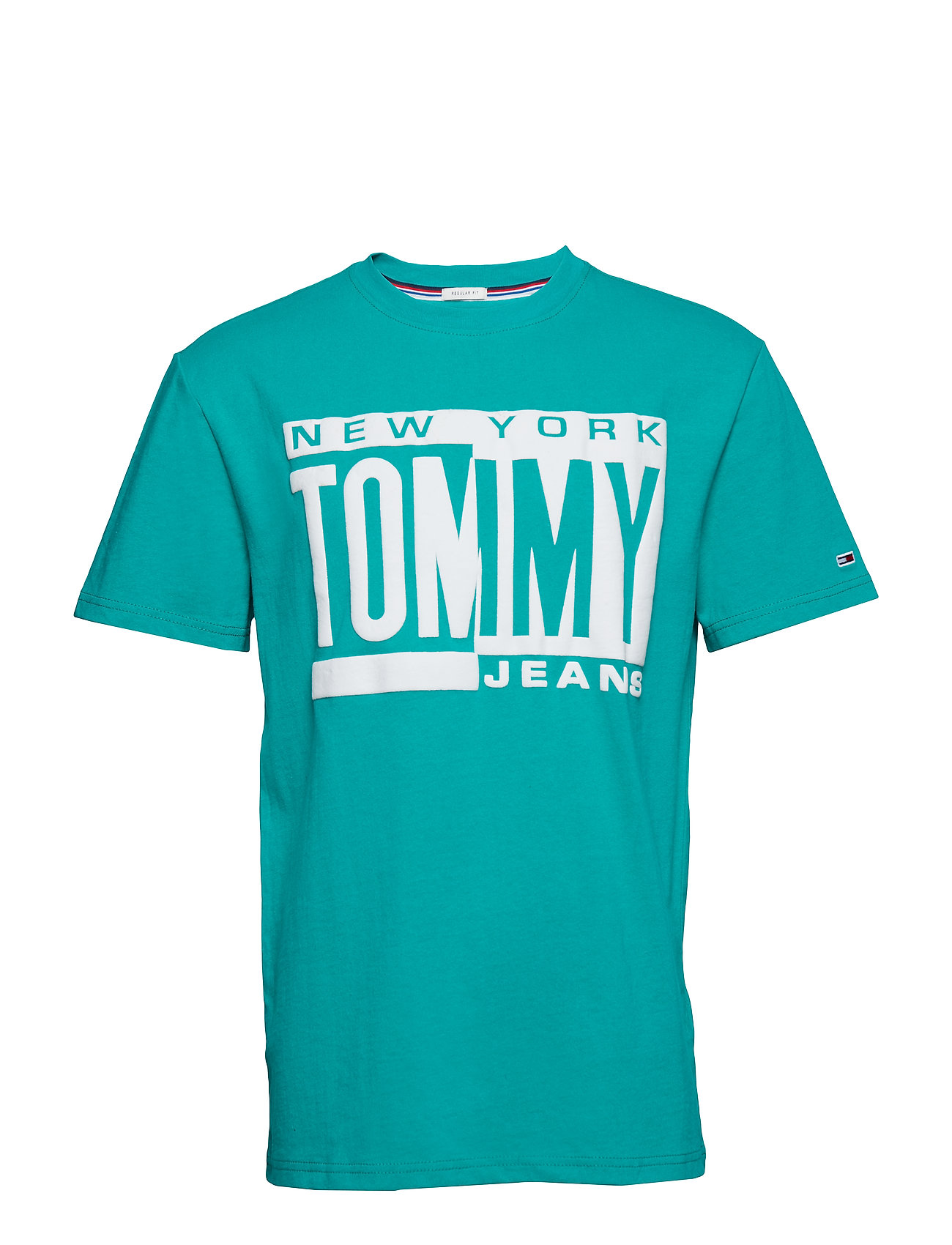 Tommy Jeans TJM BOX LOGO TEE, 10 - DYNASTY GREEN