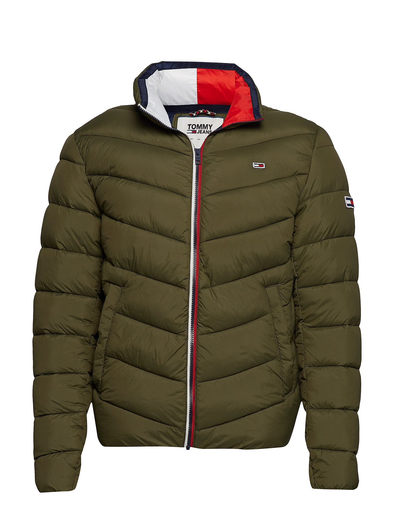 Tommy Jeans TJM ESSENTIAL PUFFER JACKET - OLIVE NIGHT