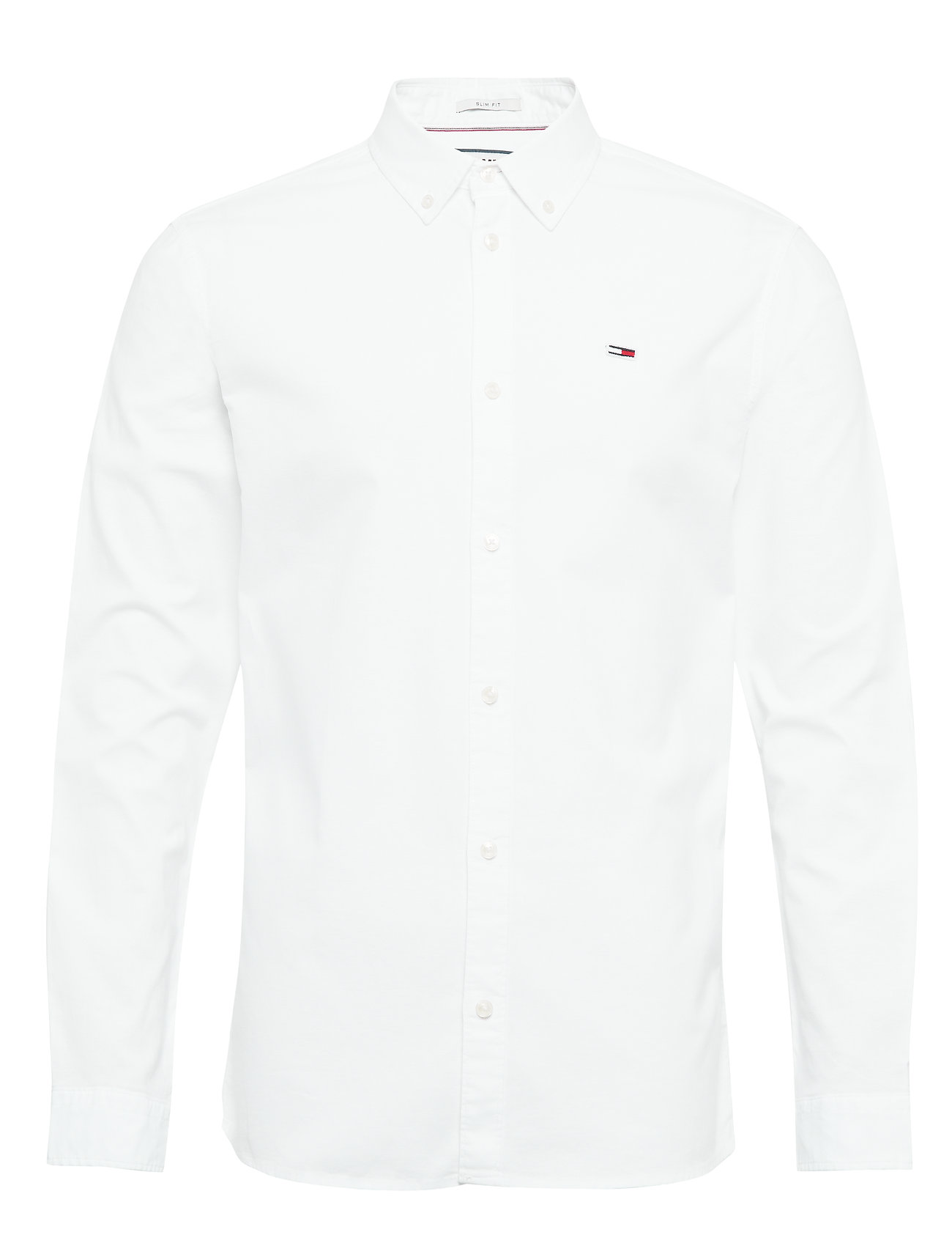 Tommy Jeans TJM STRETCH OXFORD SHIRT - CLASSIC WHITE