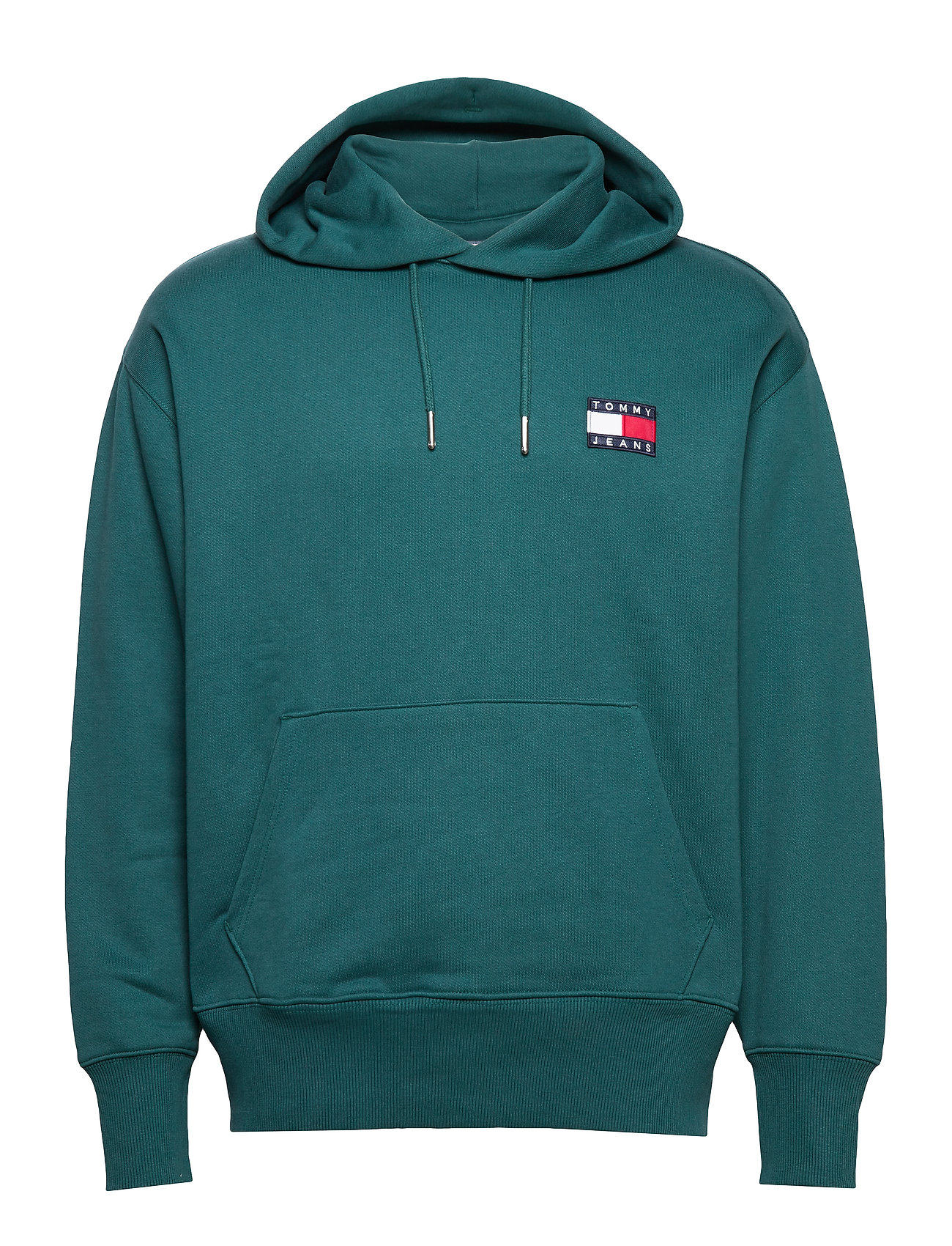 Tommy Jeans TJM TOMMY BADGE HOOD - ATLANTIC DEEP