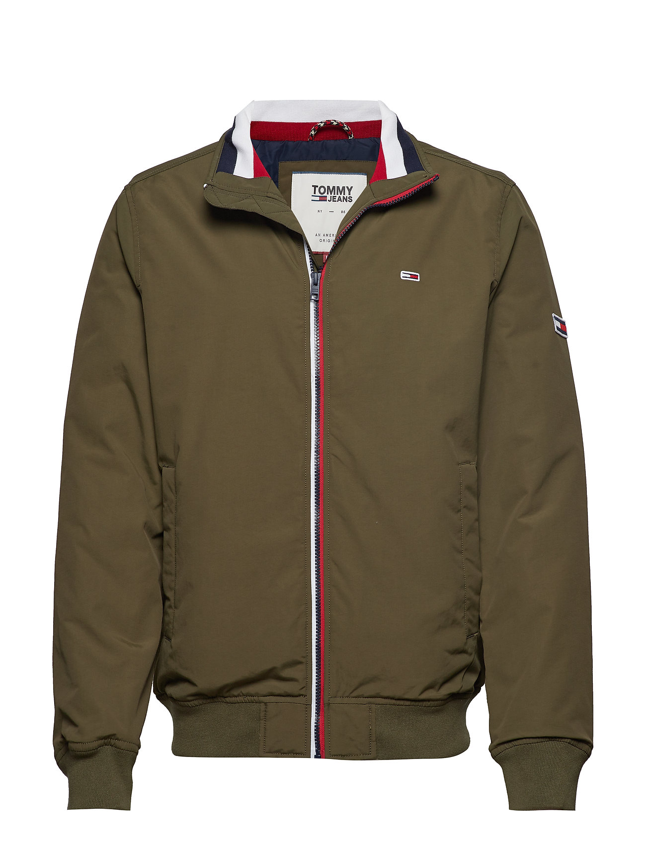 Tommy Jeans TJM ESSENTIAL PADDED - OLIVE NIGHT