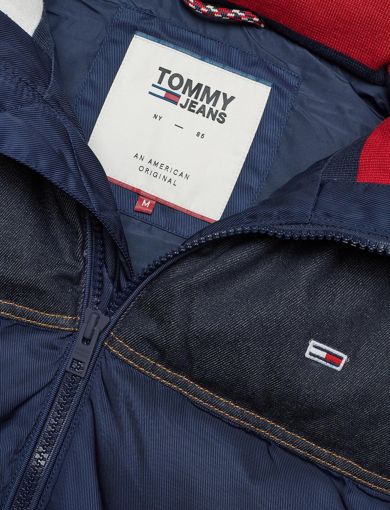 Jeans Vestblack Mix Fabric IrisTommy Tjm UzGMVpqS