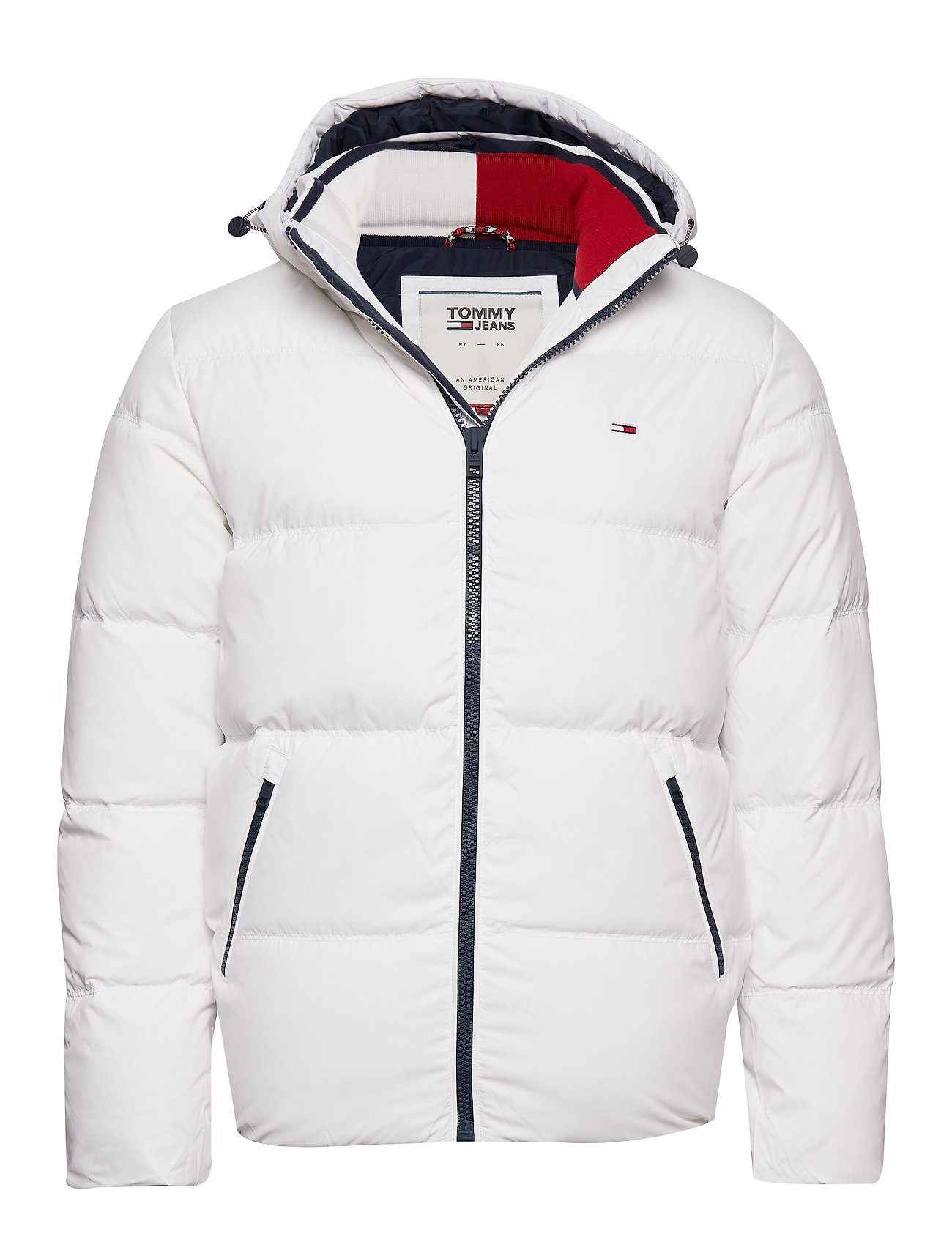 Tommy Jeans TJM ESSENTIAL DOWN JACKET - CLASSIC WHITE