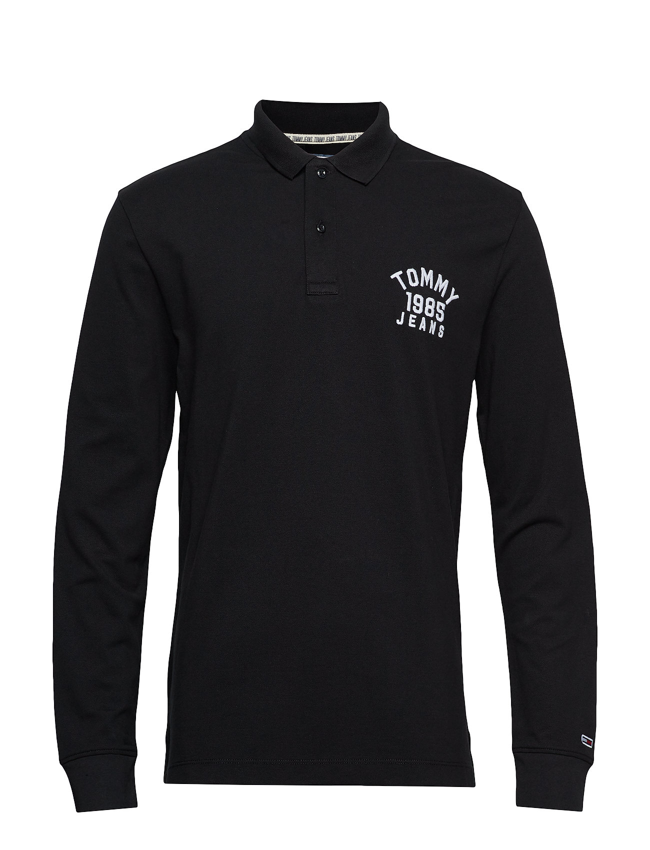 Tommy Jeans TJM CHEST LOGO LONGS - TOMMY BLACK