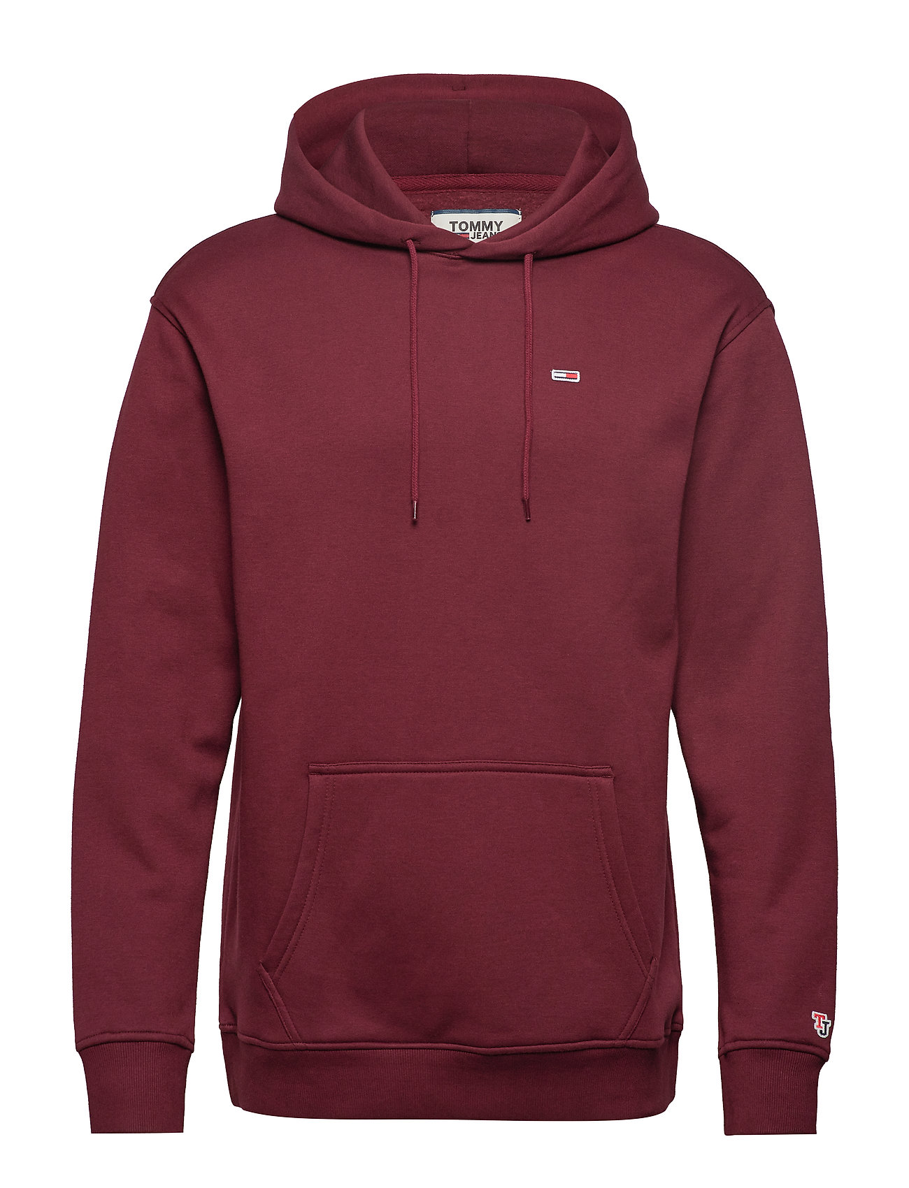 Tommy Jeans TJM TOMMY CLASSICS HOODIE - BURGUNDY