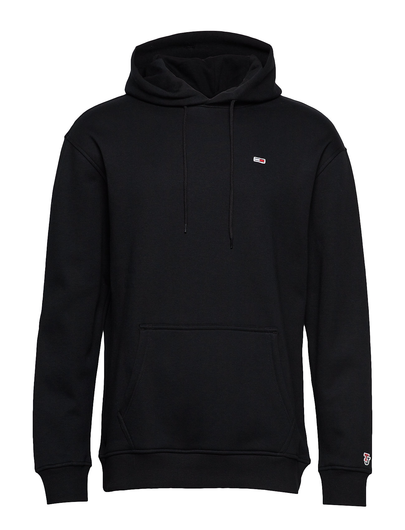 Tommy Jeans TJM TOMMY CLASSICS HOODIE - TOMMY BLACK