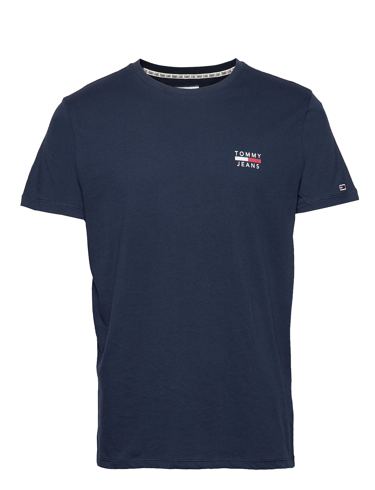 Tjw Square Logo Tee T shirt Top Blå Tommy Jeans 3209018307