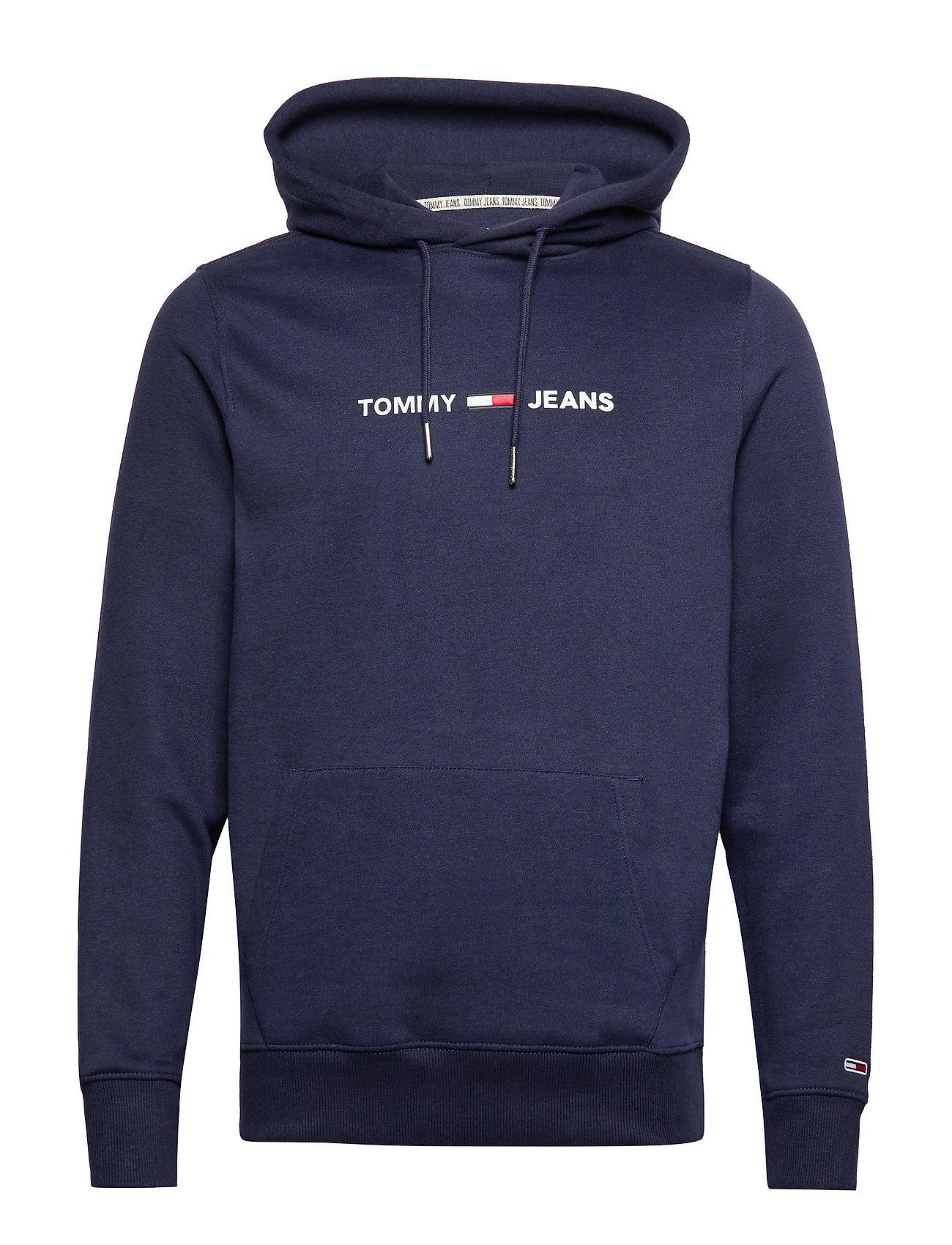 Tommy Jeans TJM STRAIGHT SMALL L - BLACK IRIS
