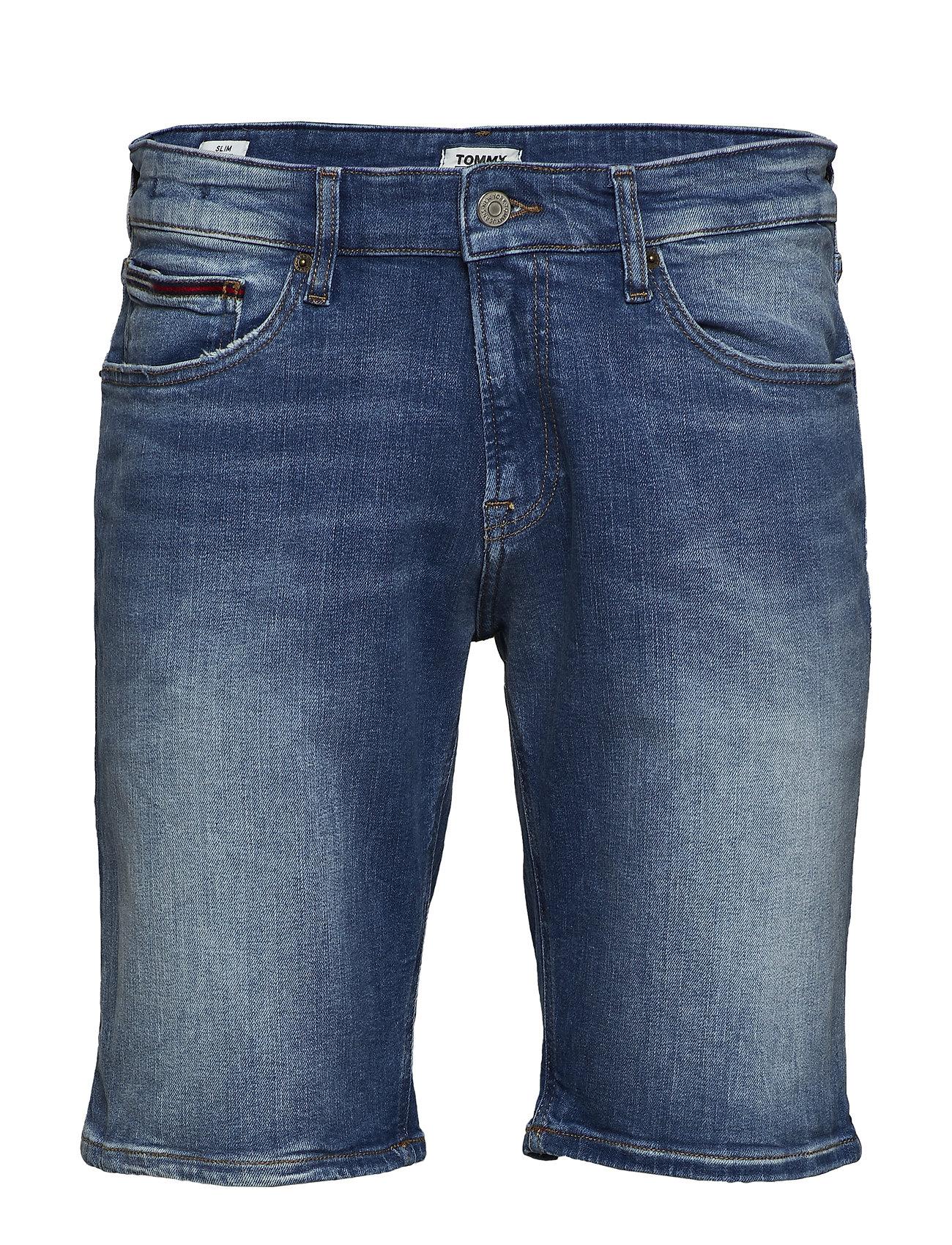 Tommy Jeans SCANTON SLIM SHORT CRTMD - COURT MID BL STR