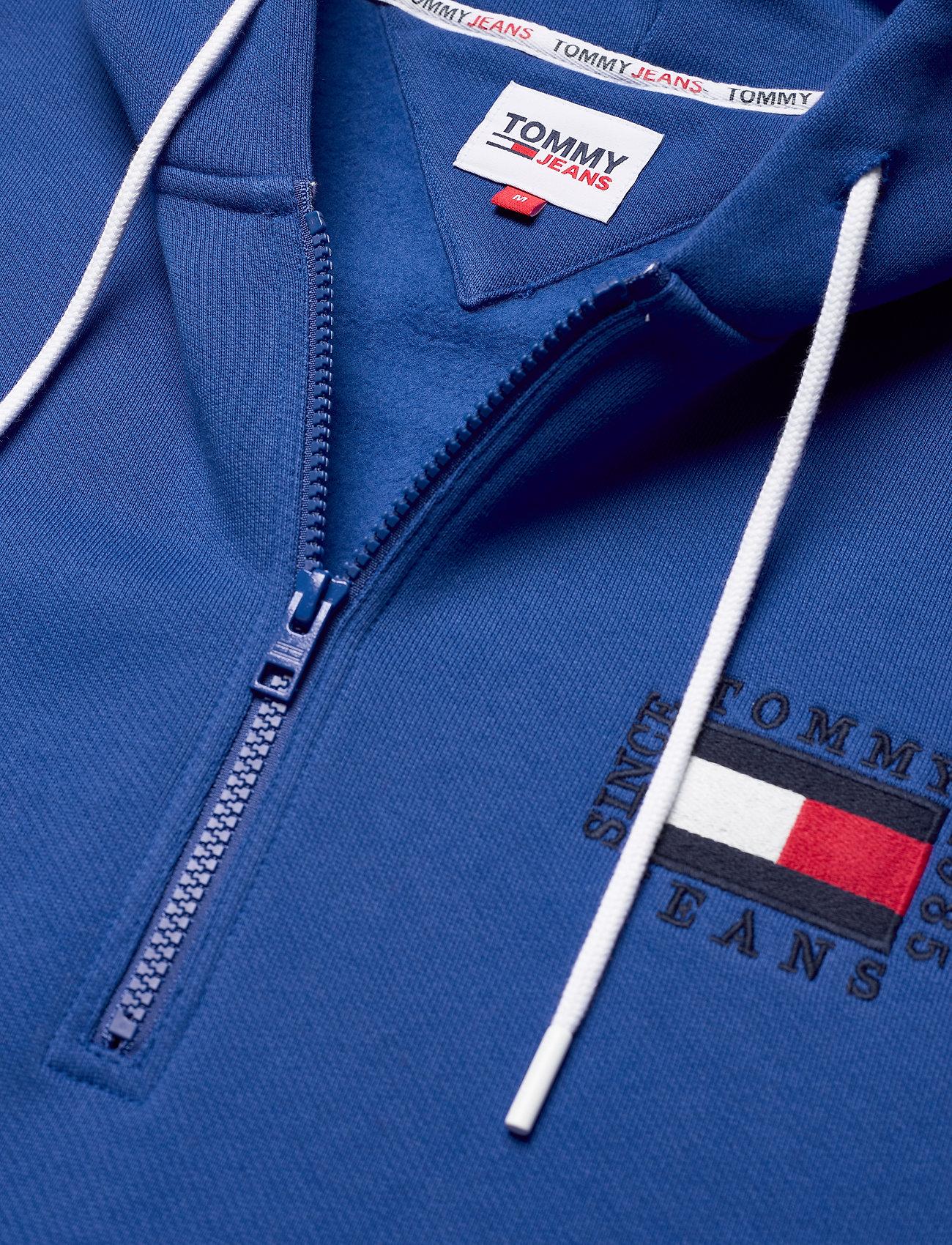 Tommy Jeans - TJM HALF ZIP HOODIE - hoodies - providence blue - 2