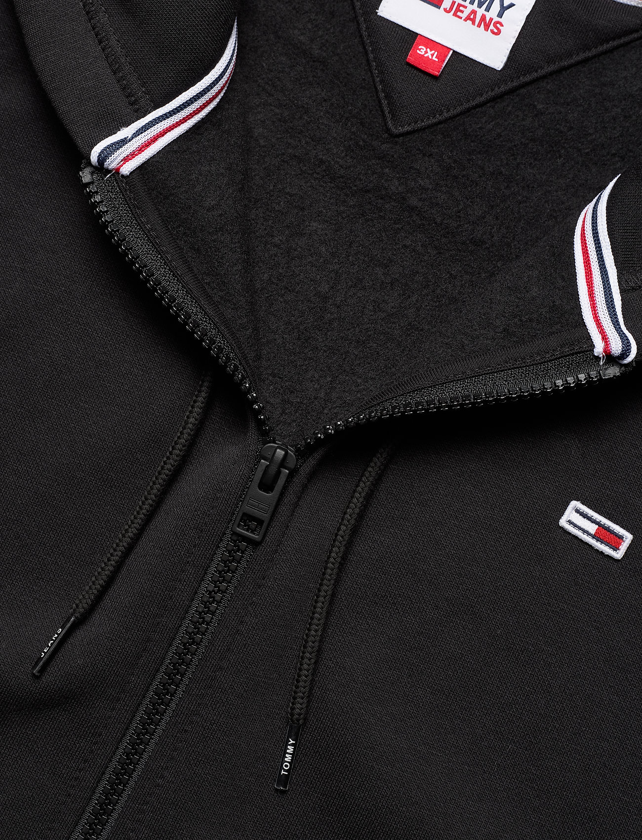 Tommy Jeans - TJM REGULAR FLEECE ZIP HOODIE - hoodies - black - 2