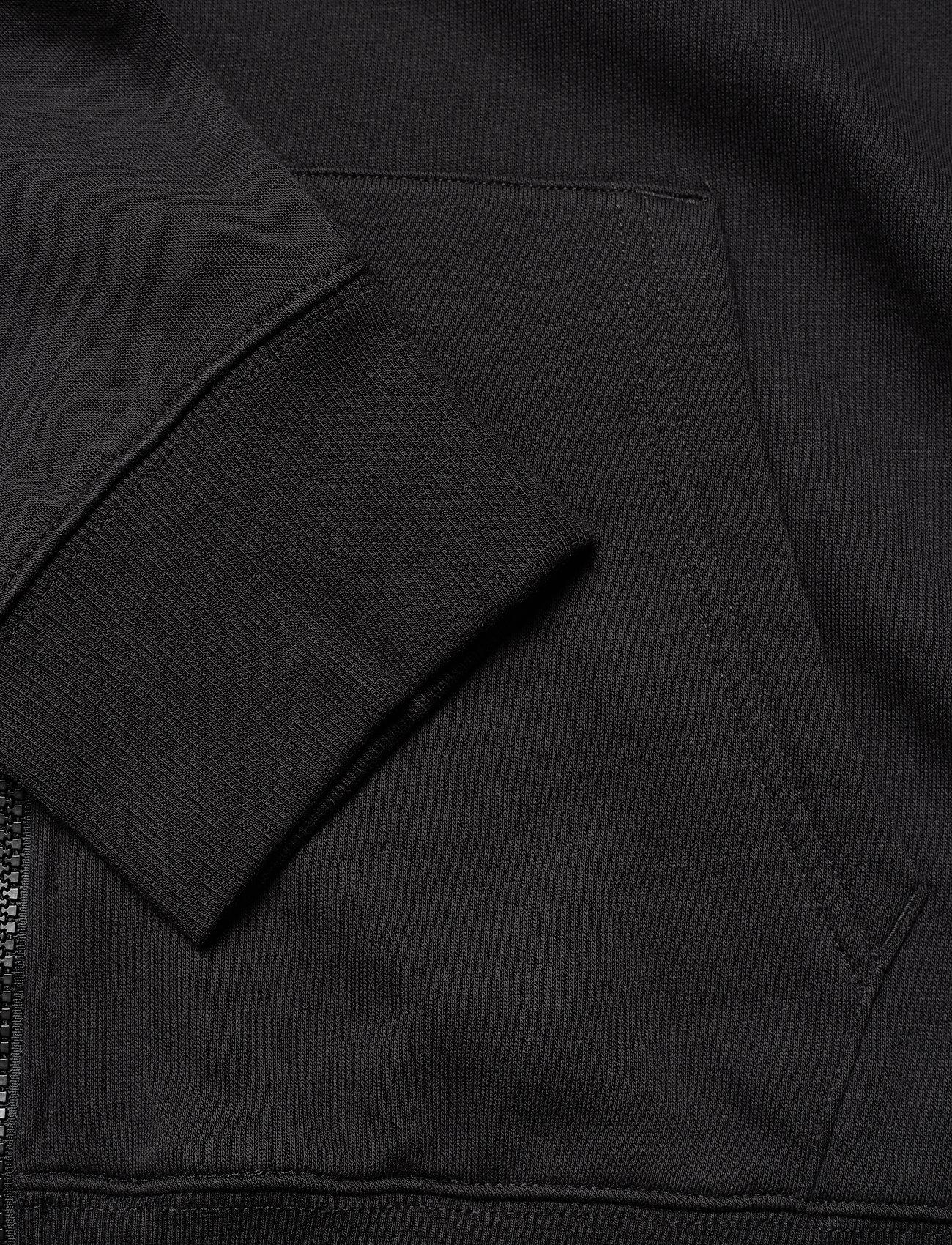 Tommy Jeans - TJM REGULAR FLEECE ZIP HOODIE - hoodies - black - 3
