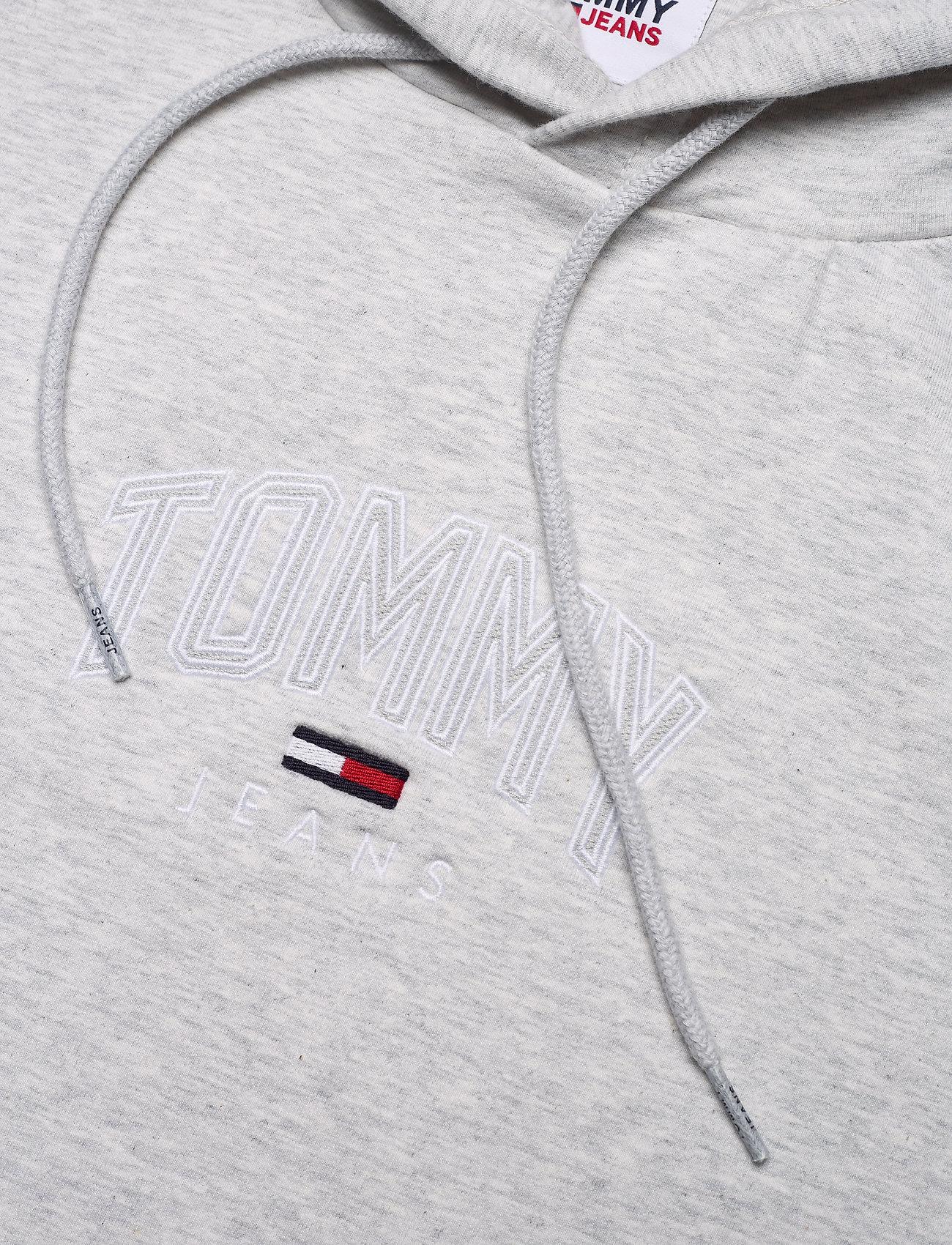 Tommy Jeans - TJM LIGHTWEIGHT TOMMY HOODIE - sweats à capuche - silver grey htr - 2