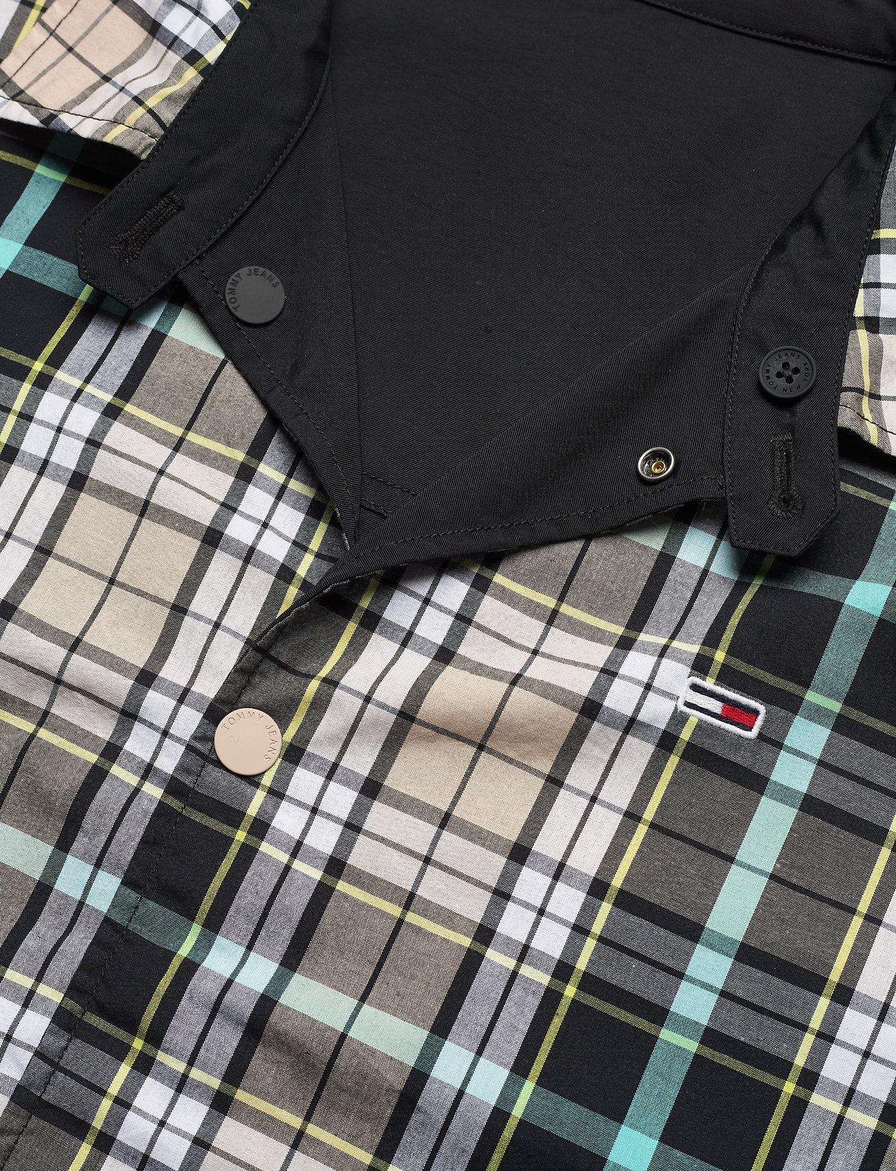 Tommy Jeans - TJM REVERSIBLE CHECK JKT - kurtki-wiosenne - black - 4