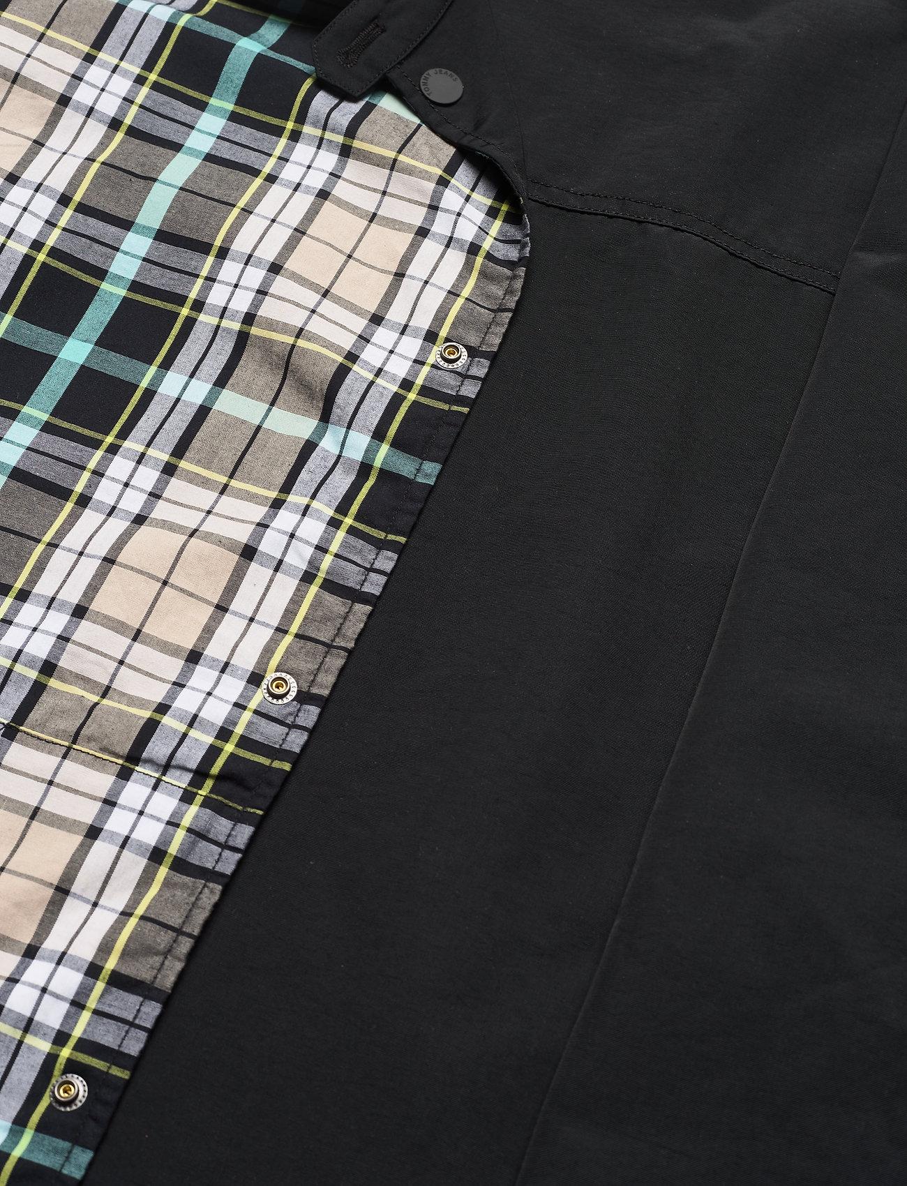 Tommy Jeans - TJM REVERSIBLE CHECK JKT - kurtki-wiosenne - black - 6