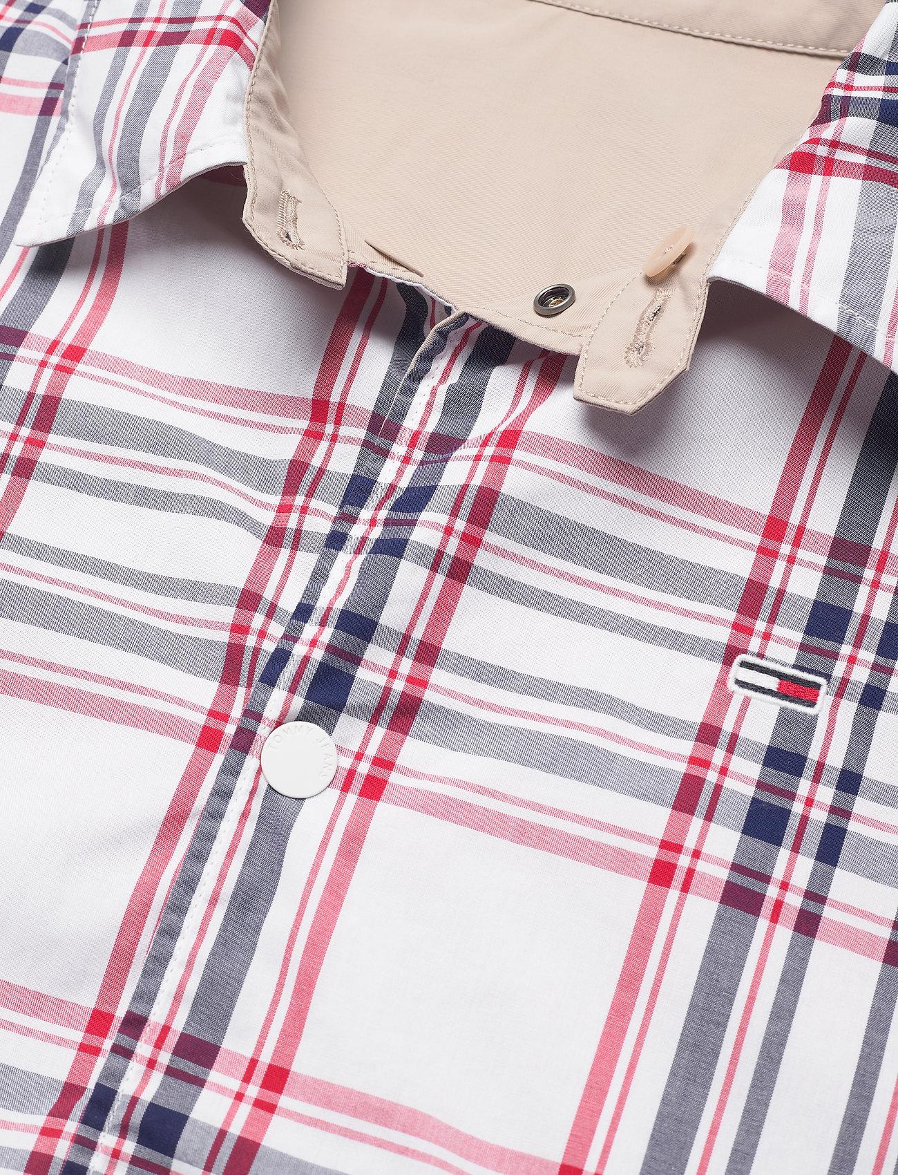 Tommy Jeans - TJM REVERSIBLE CHECK JKT - vestes légères - soft beige - 4