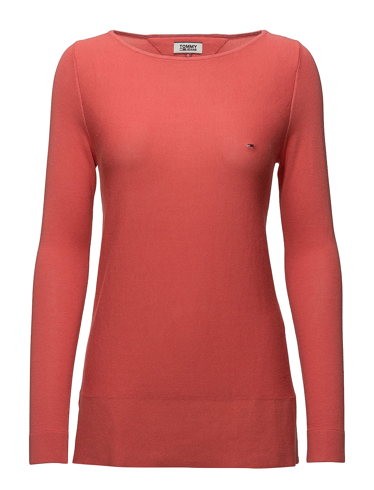 Tommy Jeans TJW ESSENTIAL BOAT N - SPICED CORAL