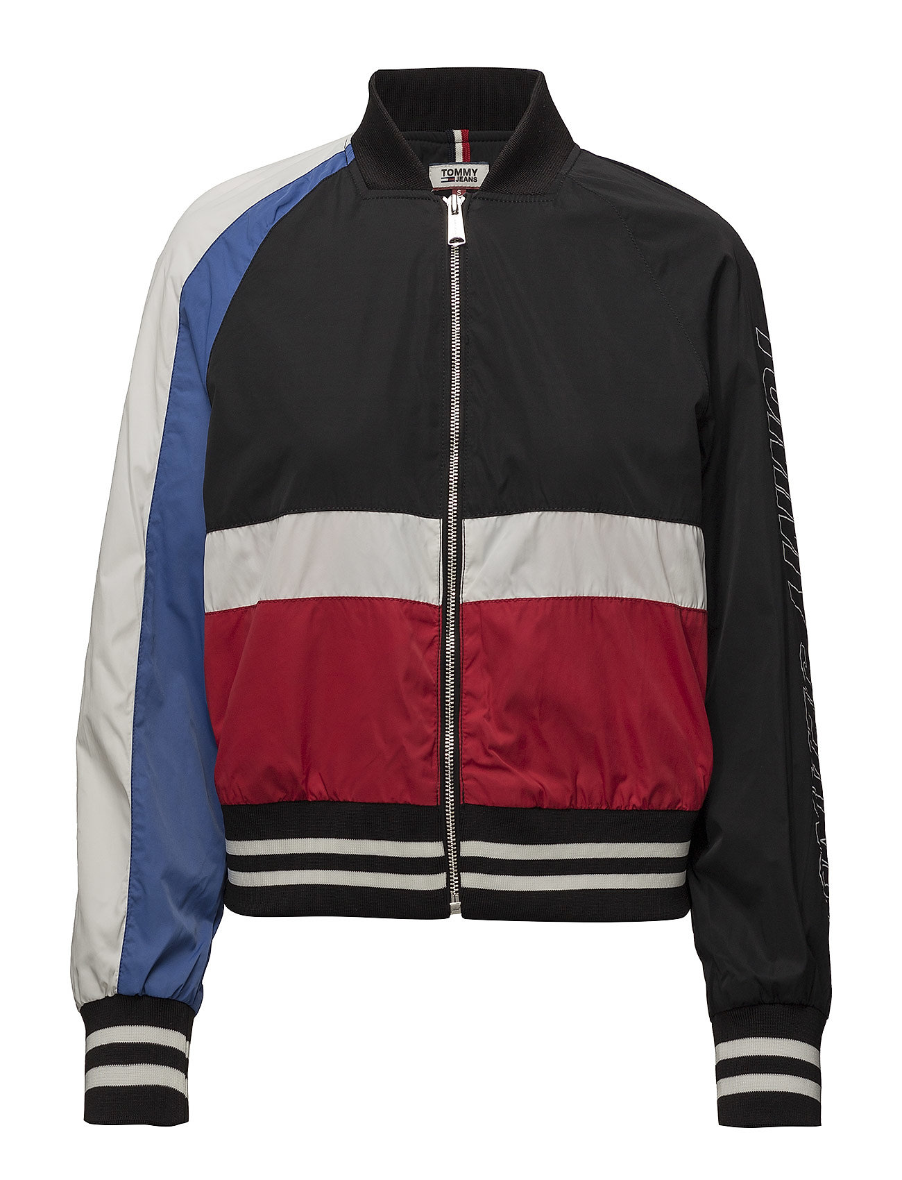 Tommy Jeans TJW COLOR BLOCK BOMB - TOMMY BLACK MULTI
