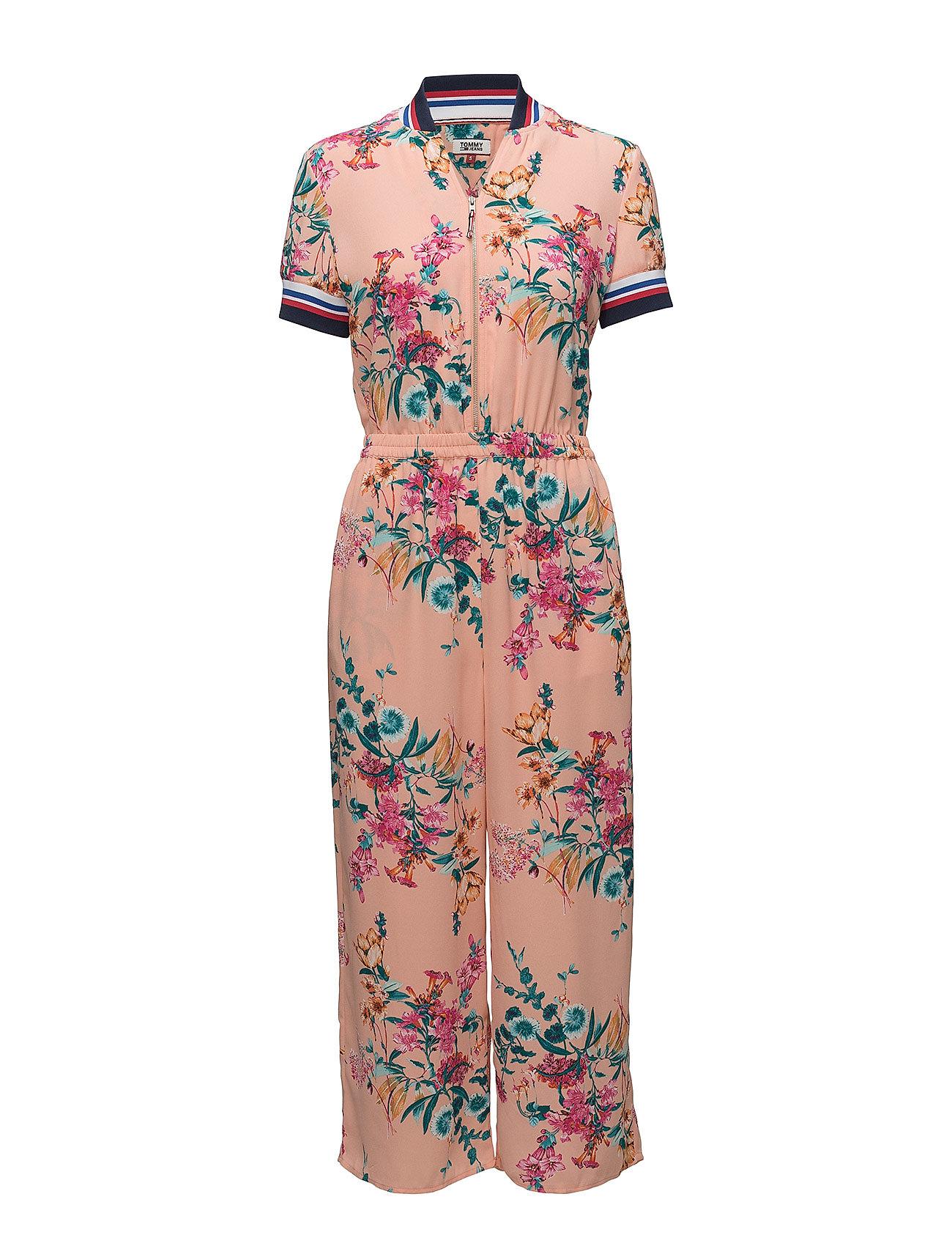 Tjw Floral Print Jumpsuit